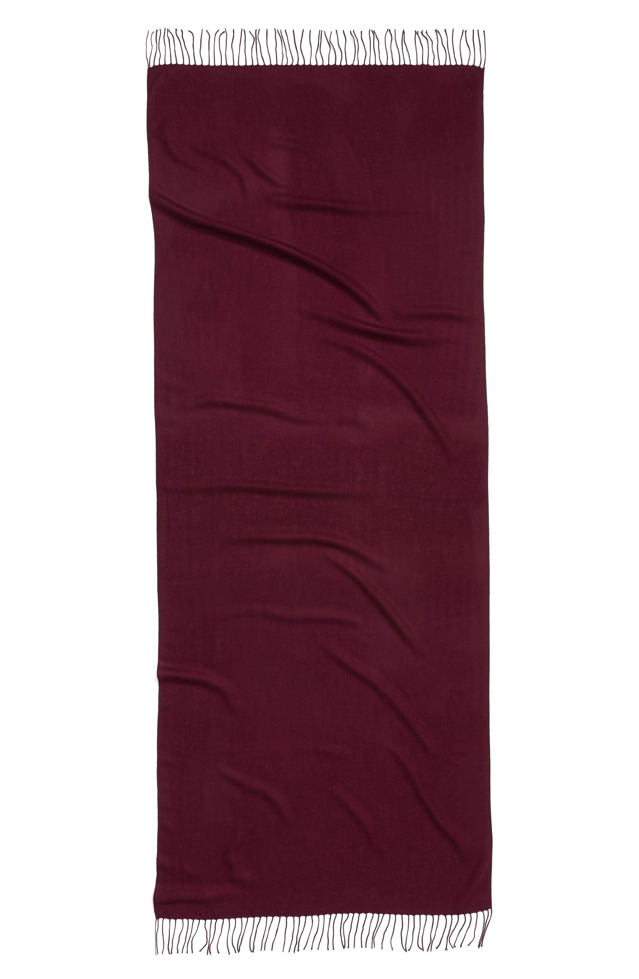 Tissue Weight Wool & Cashmere Scarf,                             Alternate thumbnail 141, color,