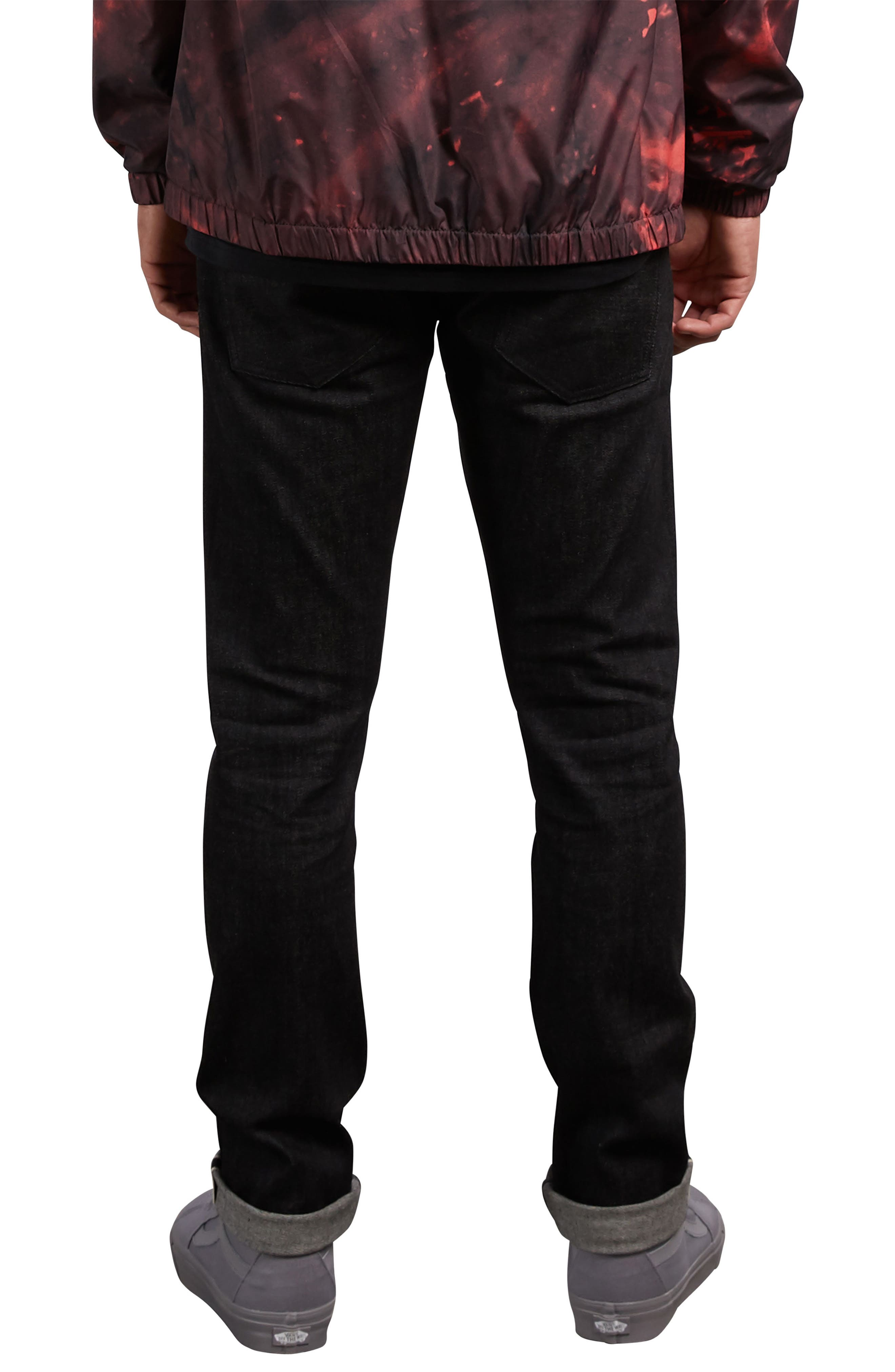 Vorta Slim Fit Jeans,                             Alternate thumbnail 2, color,                             001