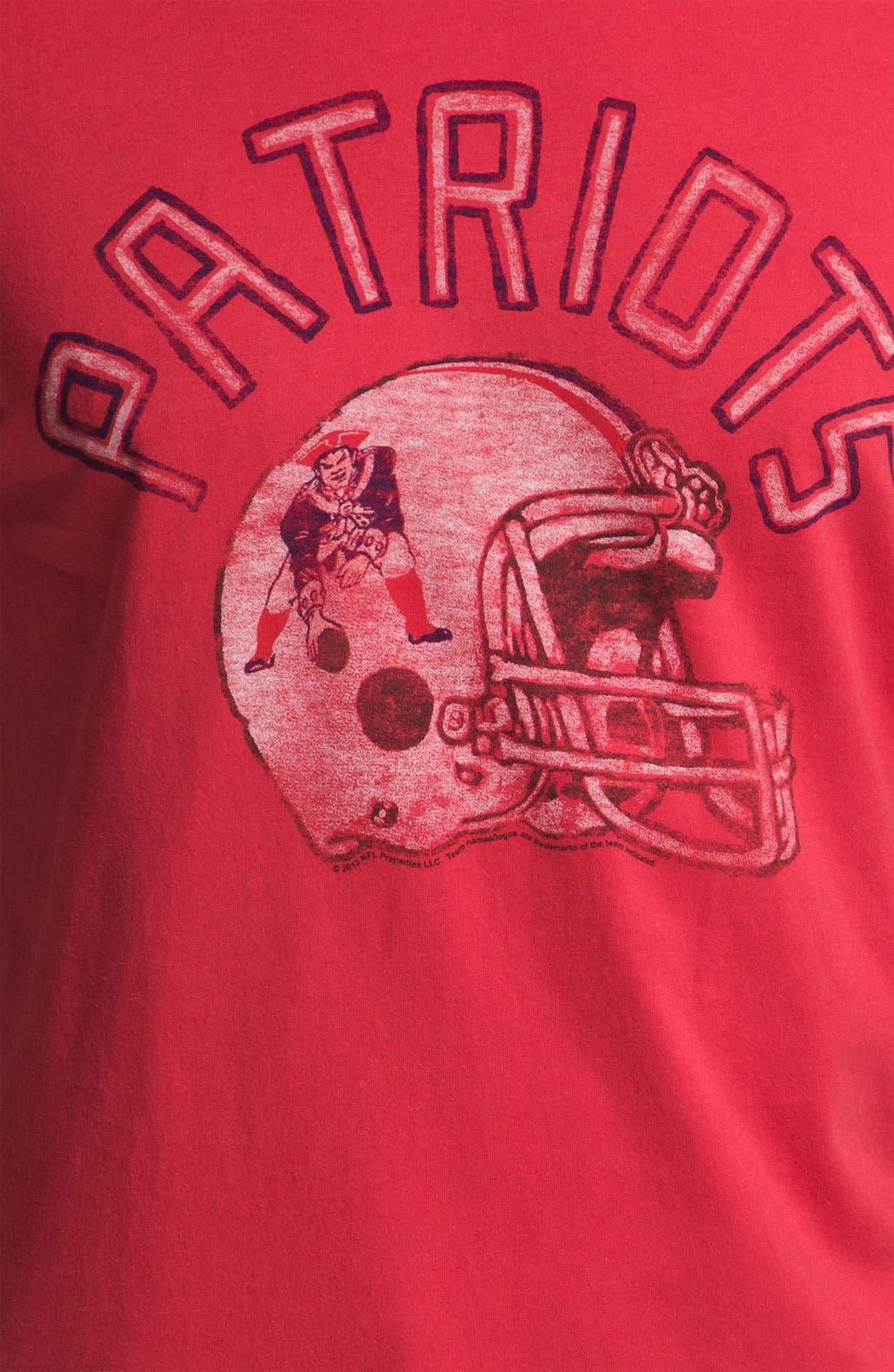 'New England Patriots' T-Shirt,                             Alternate thumbnail 2, color,                             621