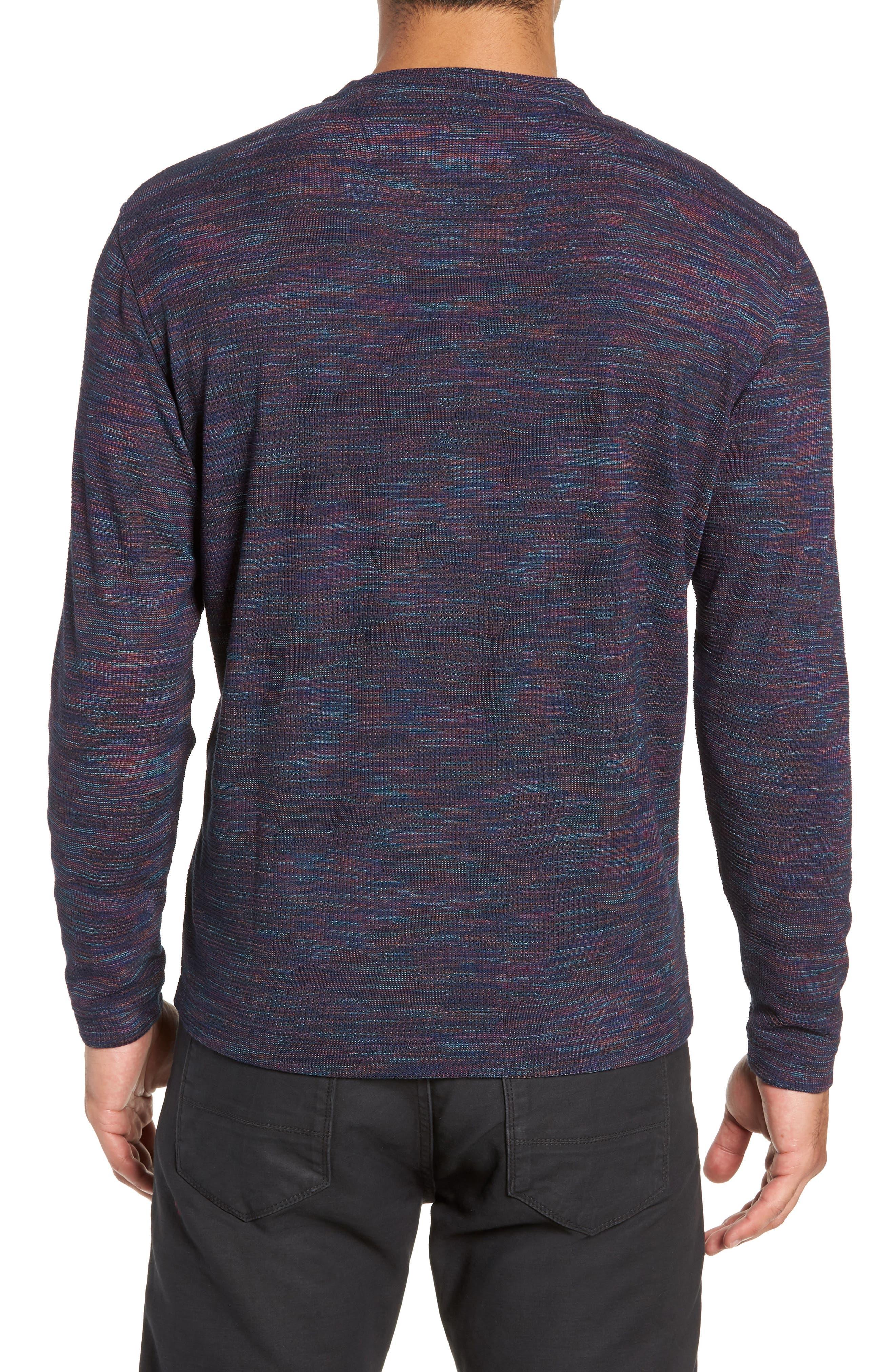 Forster Long Sleeve Henley Shirt,                             Alternate thumbnail 2, color,                             NAVY