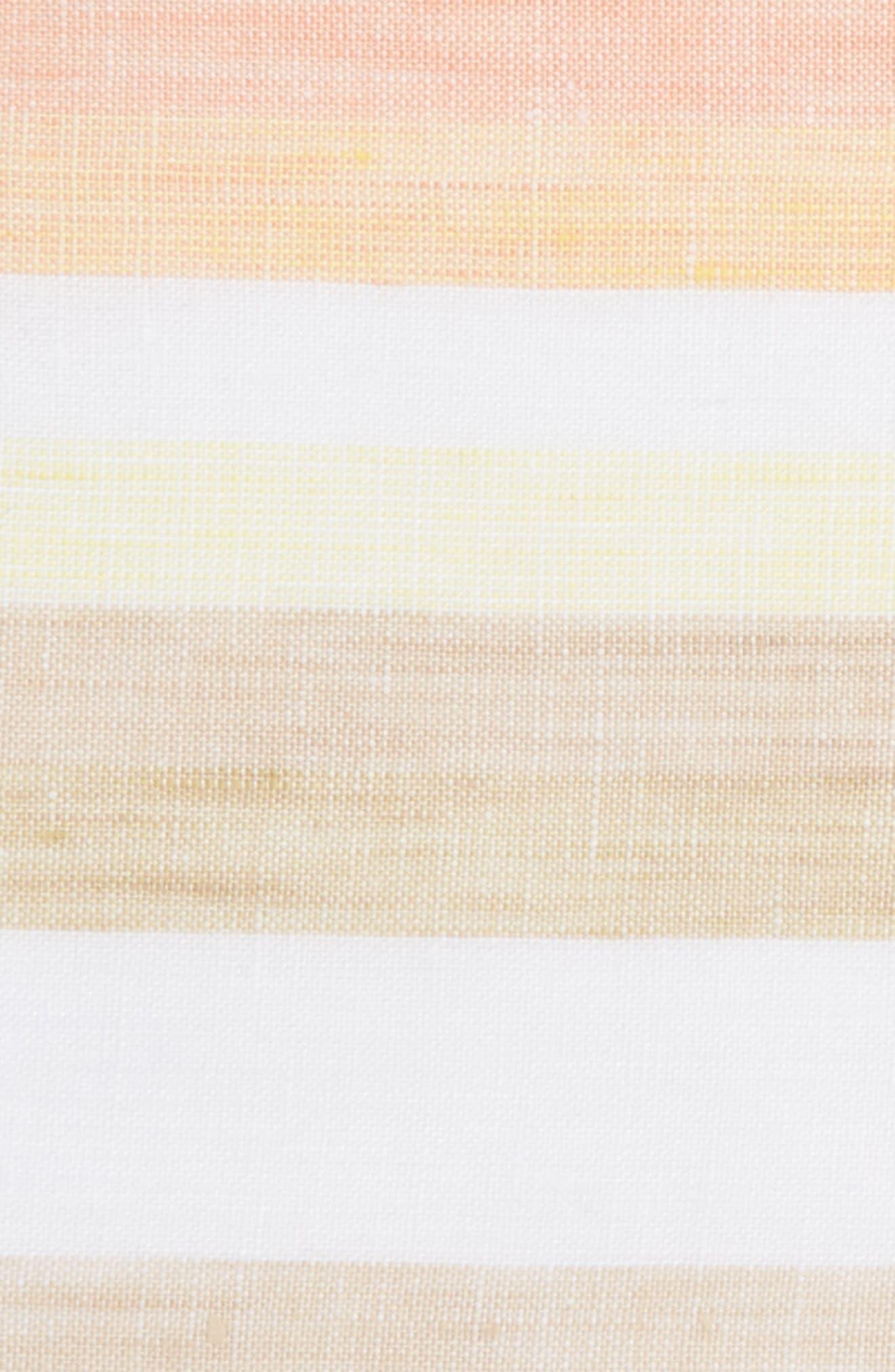 Peach Cake Linen Pocket Square,                             Alternate thumbnail 3, color,                             800