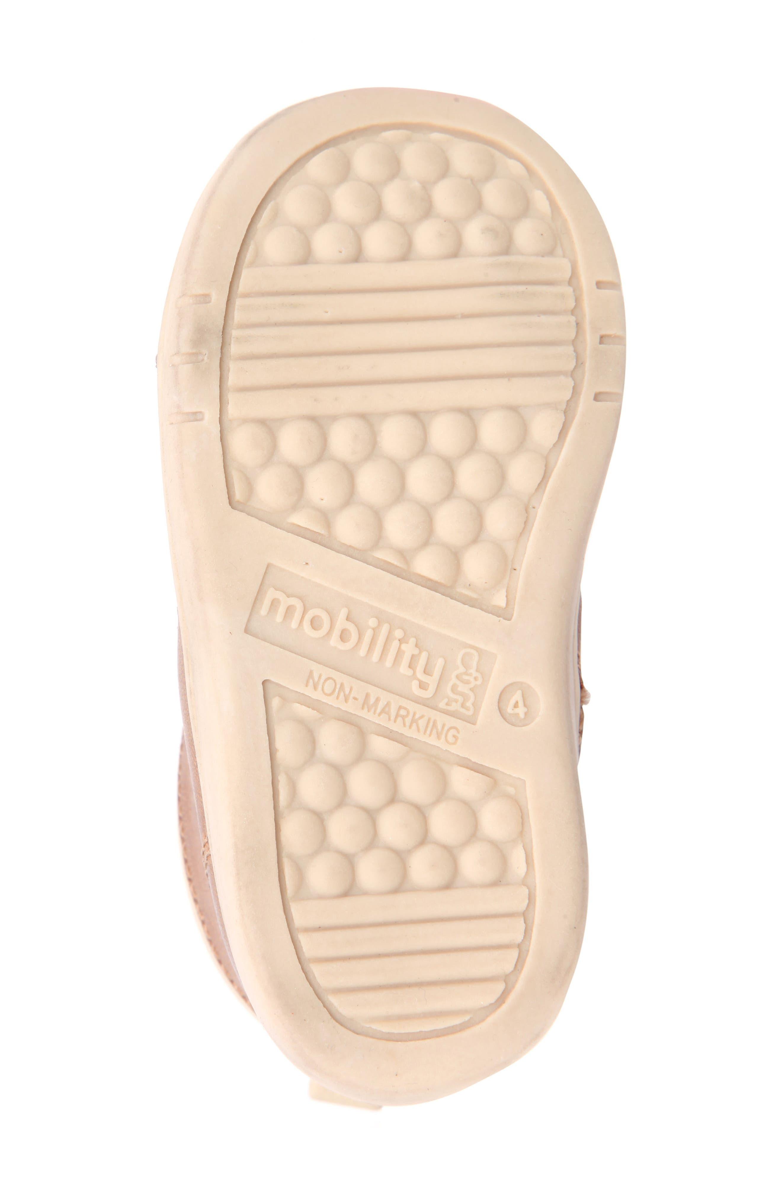 Nina Mobility Moe Sneaker,                             Alternate thumbnail 6, color,                             BROWN BURNISH