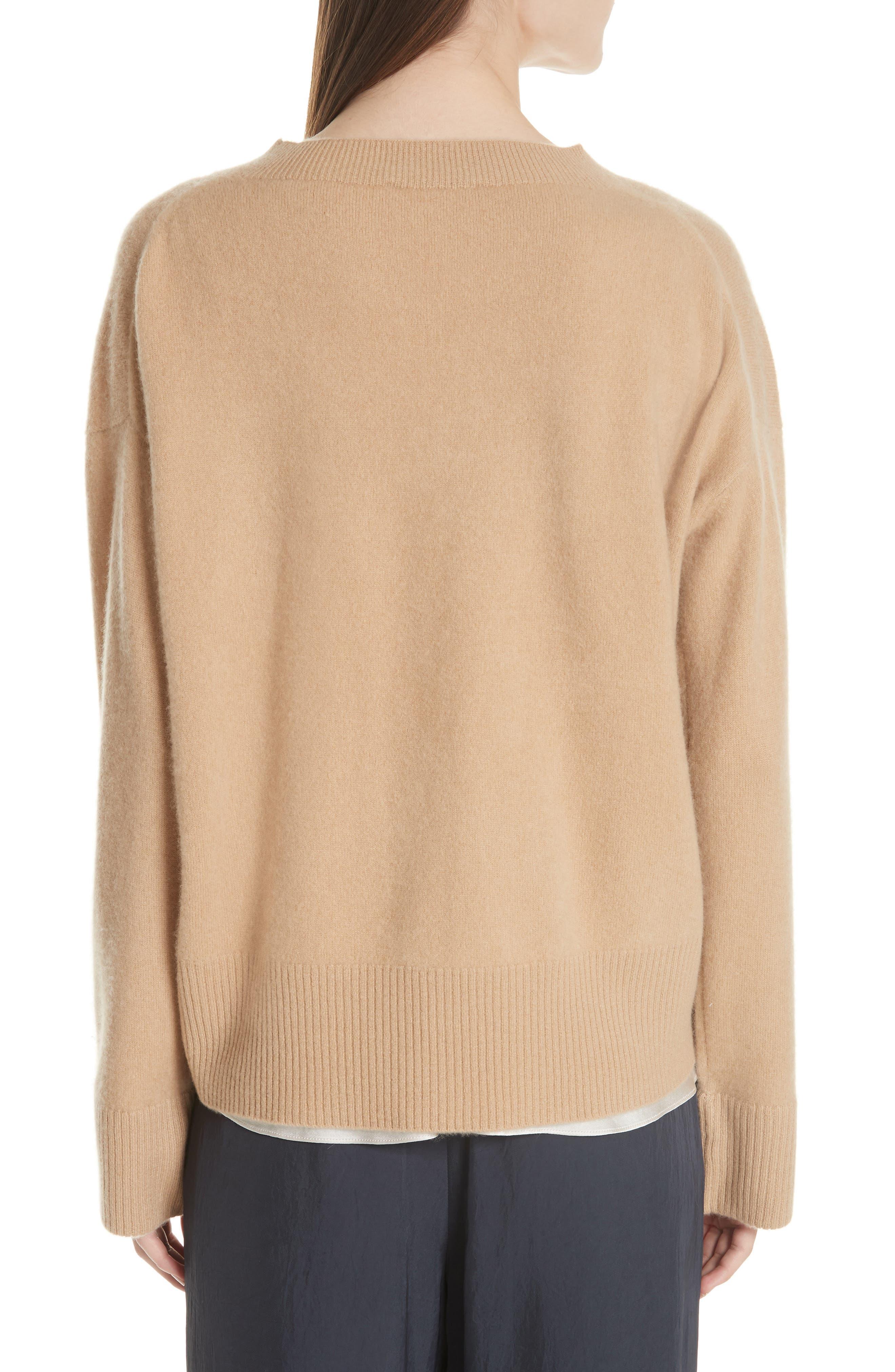 Cashmere Oversize Sweater,                             Alternate thumbnail 2, color,                             203