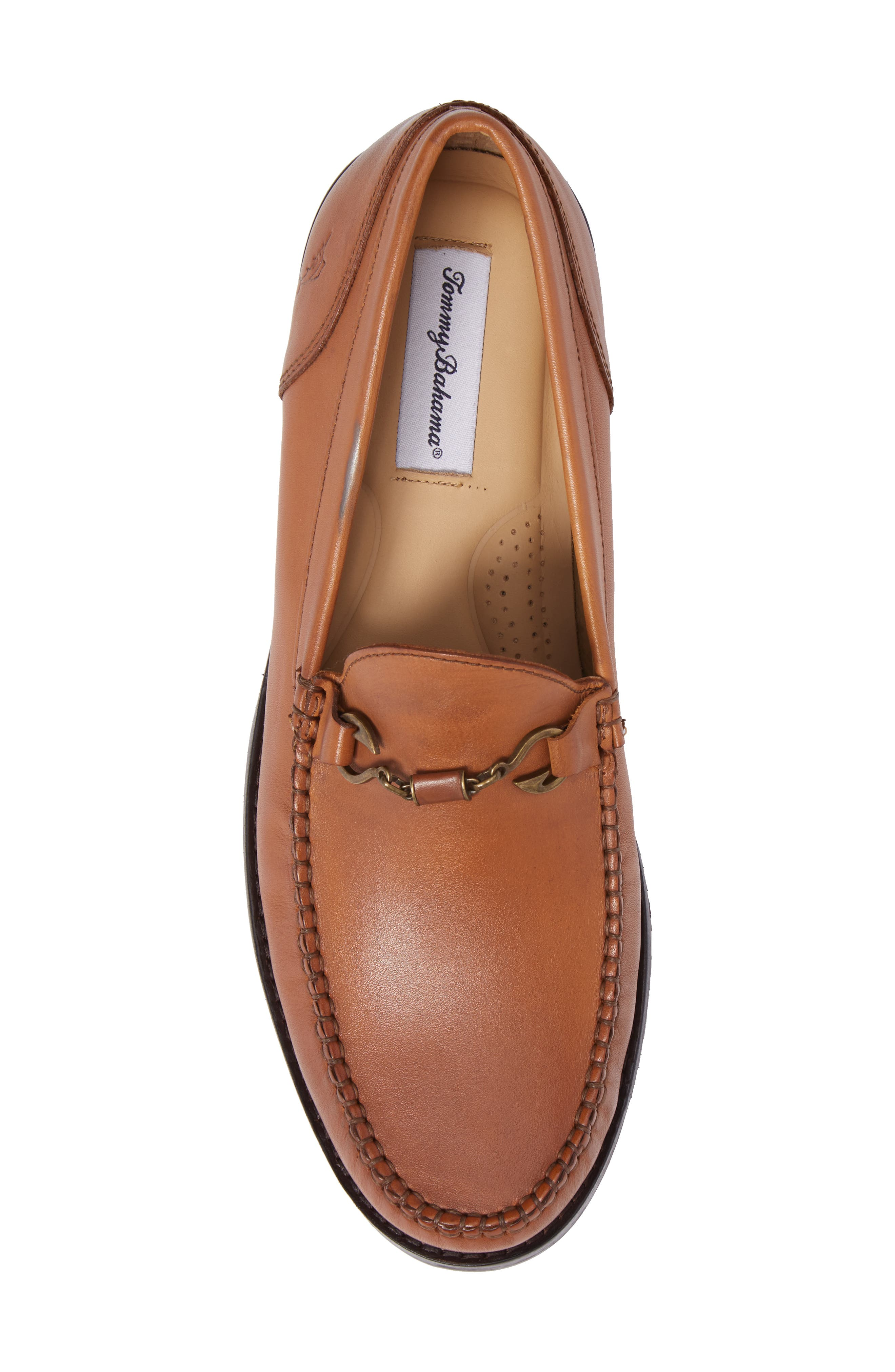 Maya Bay Bit Loafer,                             Alternate thumbnail 5, color,                             TAN LEATHER
