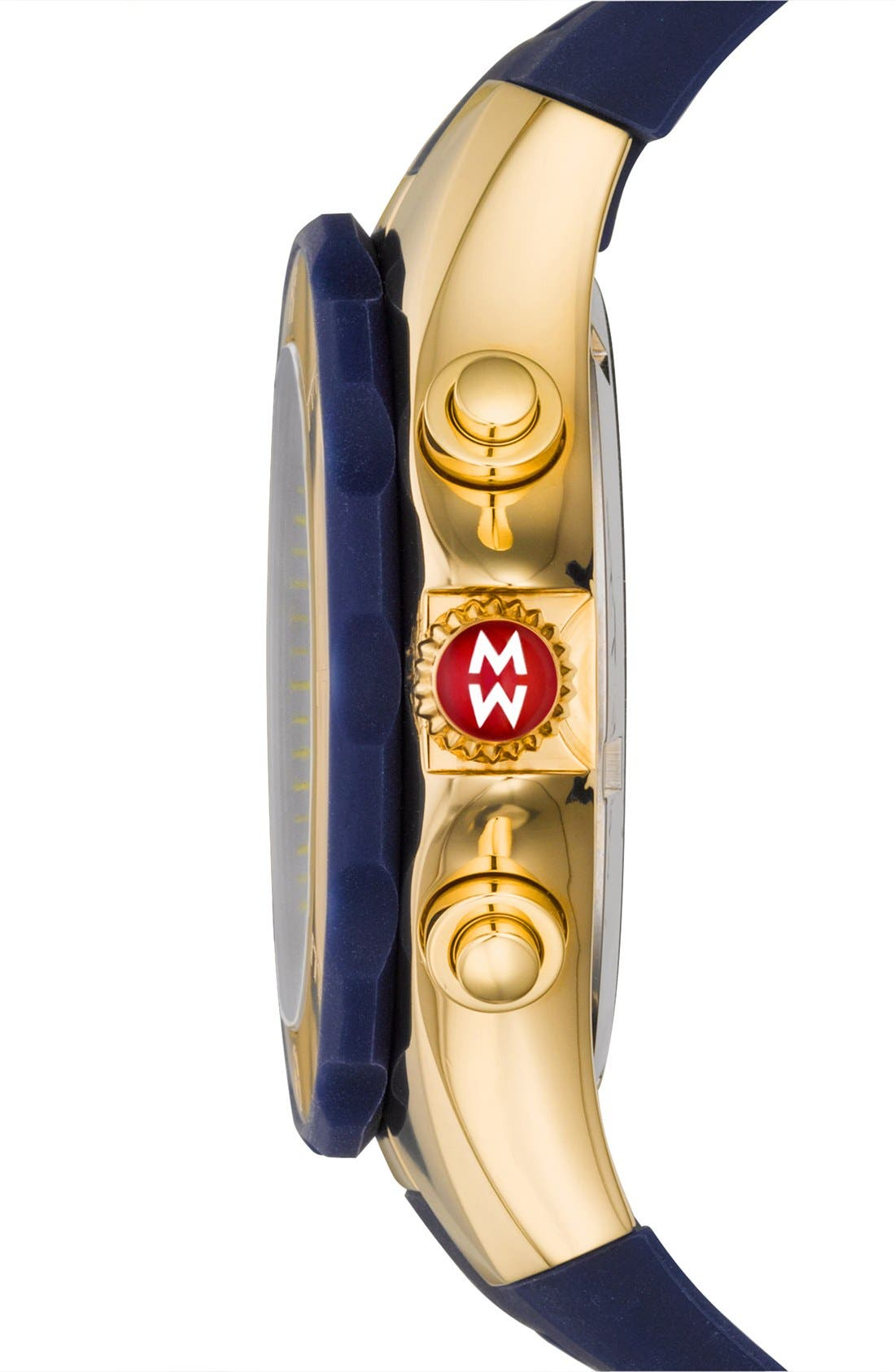 'Tahitian Jelly Bean' Gold Plated Watch, 40mm,                             Alternate thumbnail 35, color,