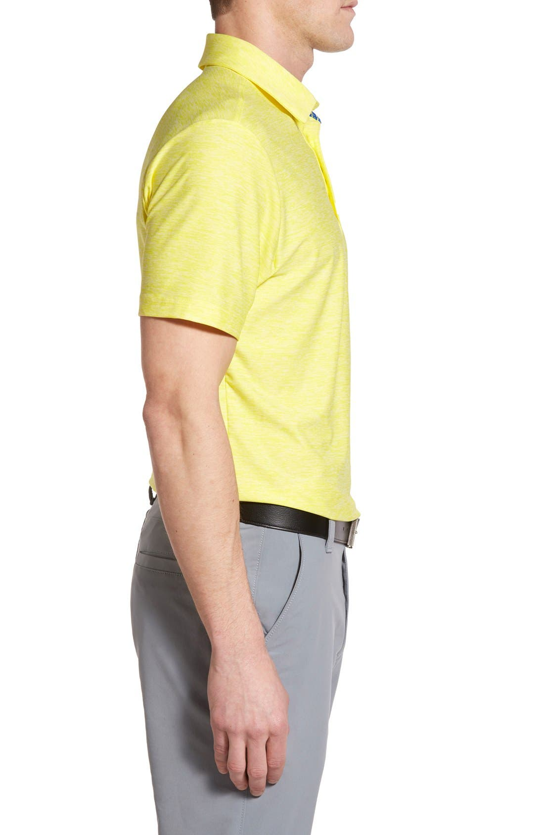 'Playoff' Loose Fit Short Sleeve Polo,                             Alternate thumbnail 173, color,