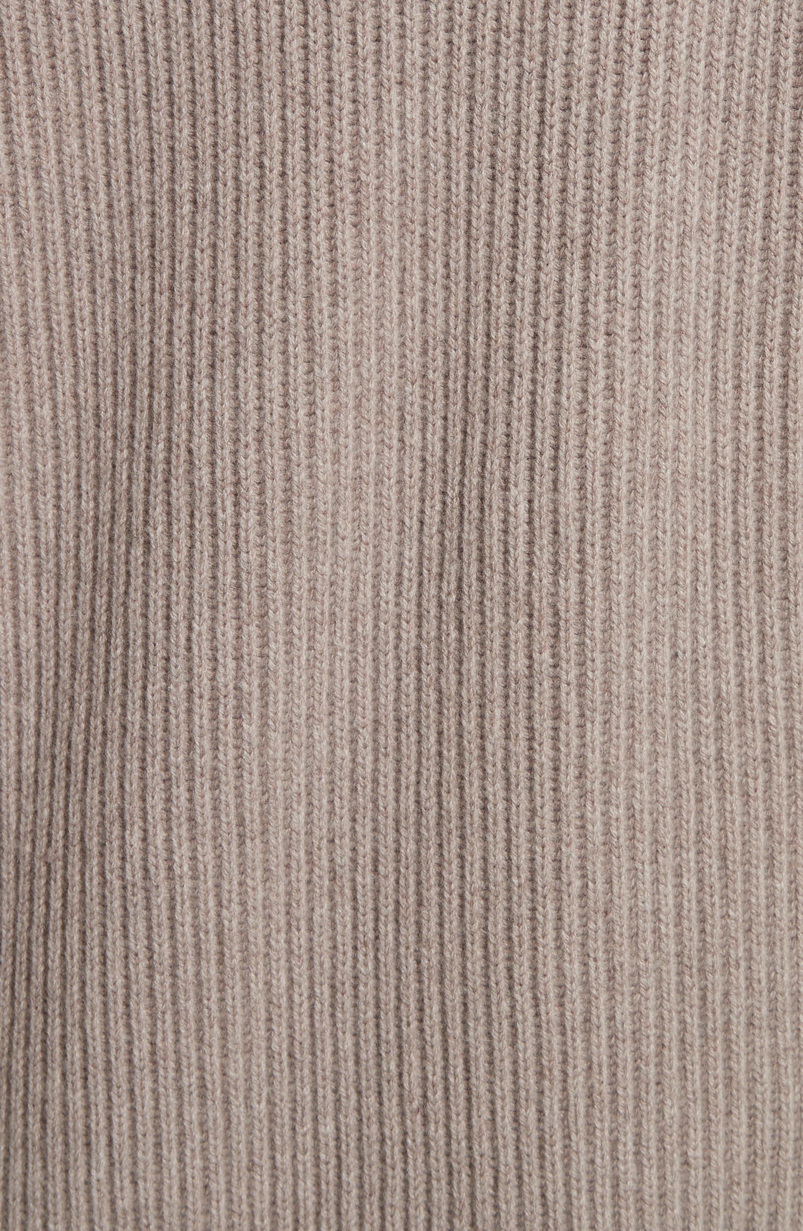 VINCE,                             Long Knit Sweater Robe,                             Alternate thumbnail 5, color,                             260
