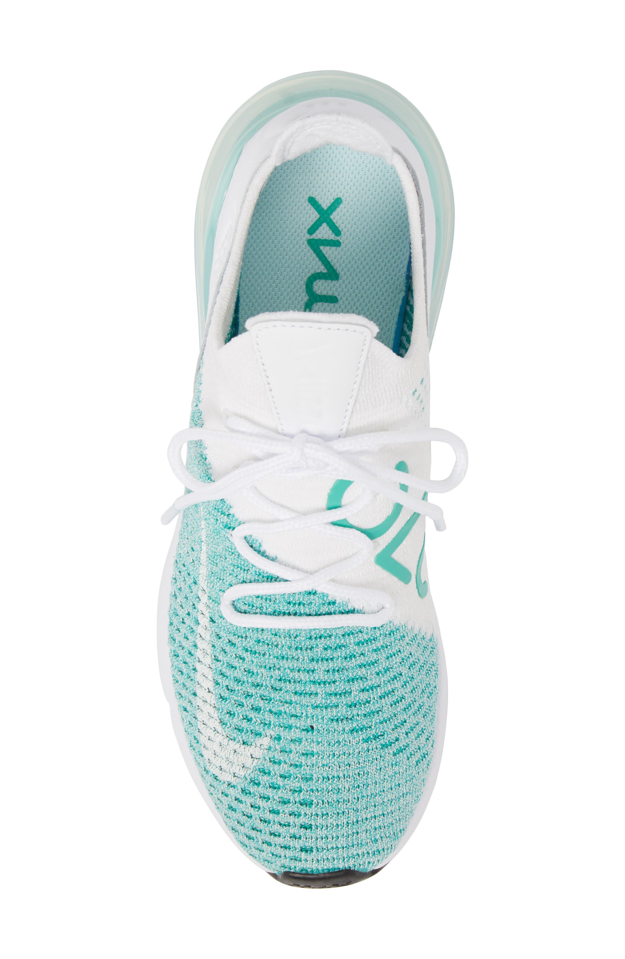 Air Max 270 Flyknit Sneaker,                             Alternate thumbnail 30, color,