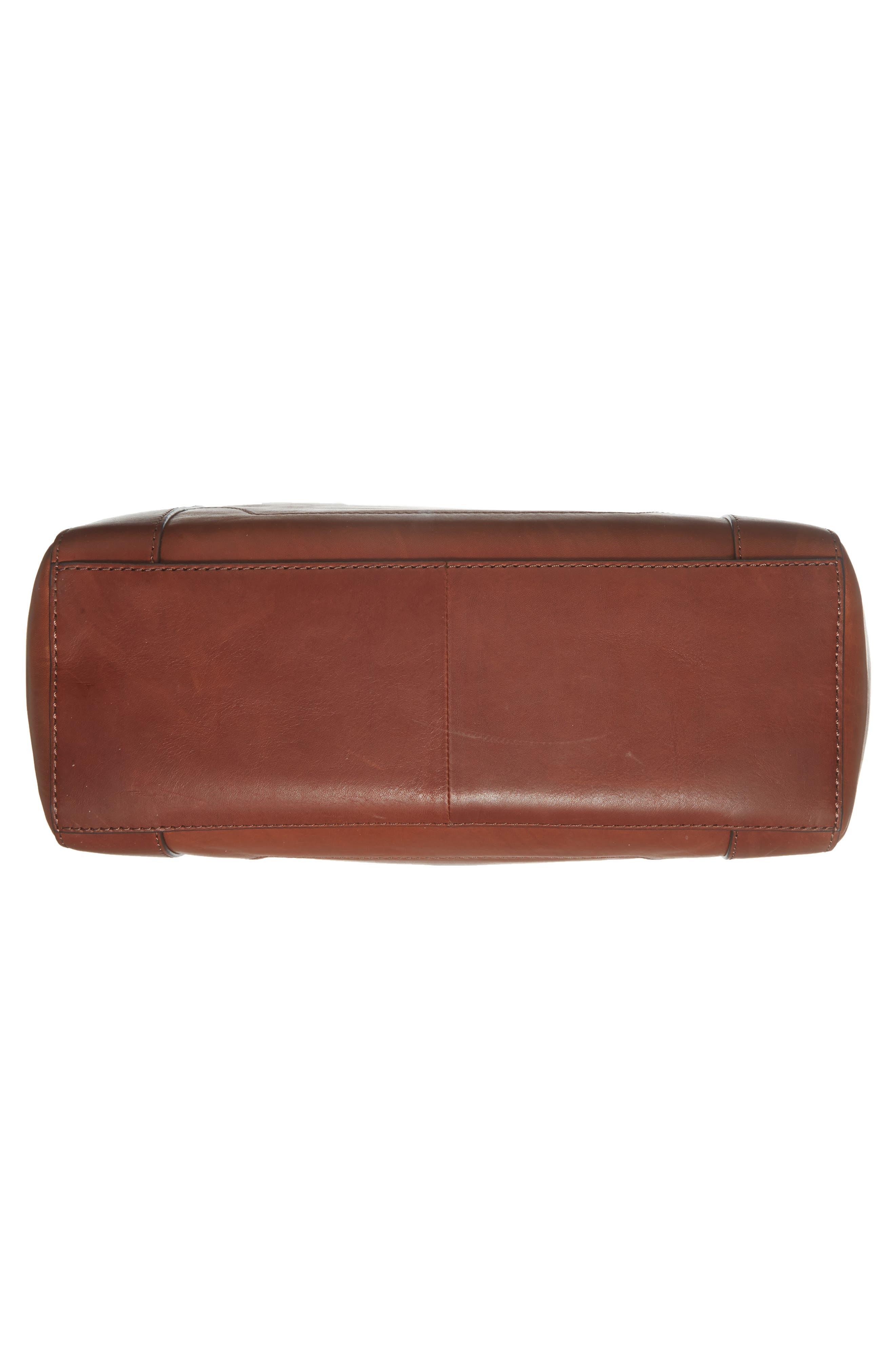 Melissa Leather Shoulder Bag,                             Alternate thumbnail 17, color,