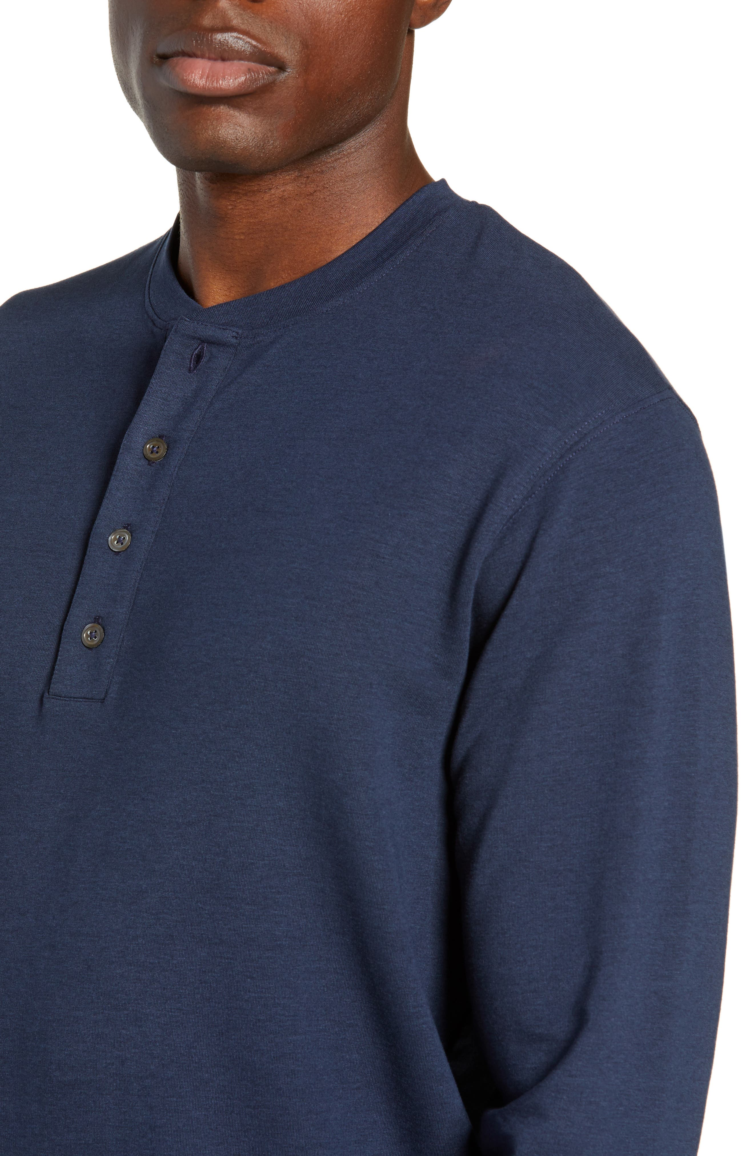 Legacy Henley,                             Alternate thumbnail 4, color,                             CLASSIC NAVY