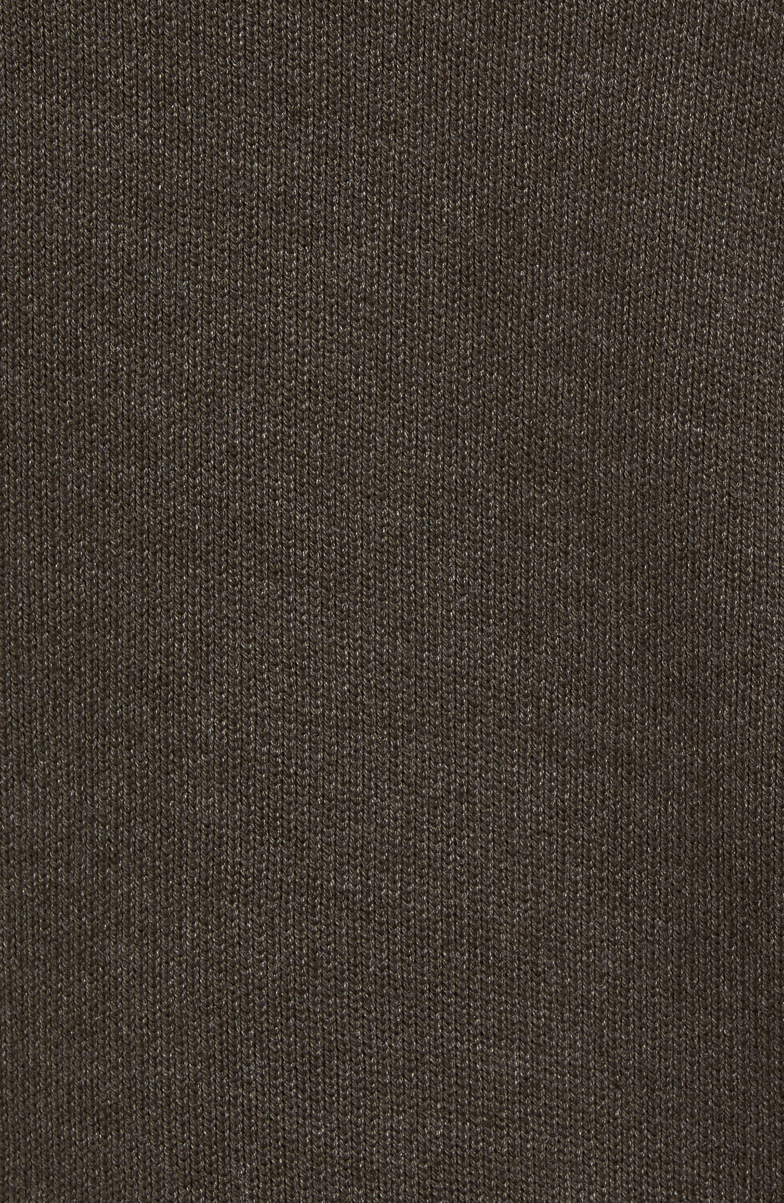 Fleece Lined Zip Hoodie,                             Alternate thumbnail 5, color,                             391