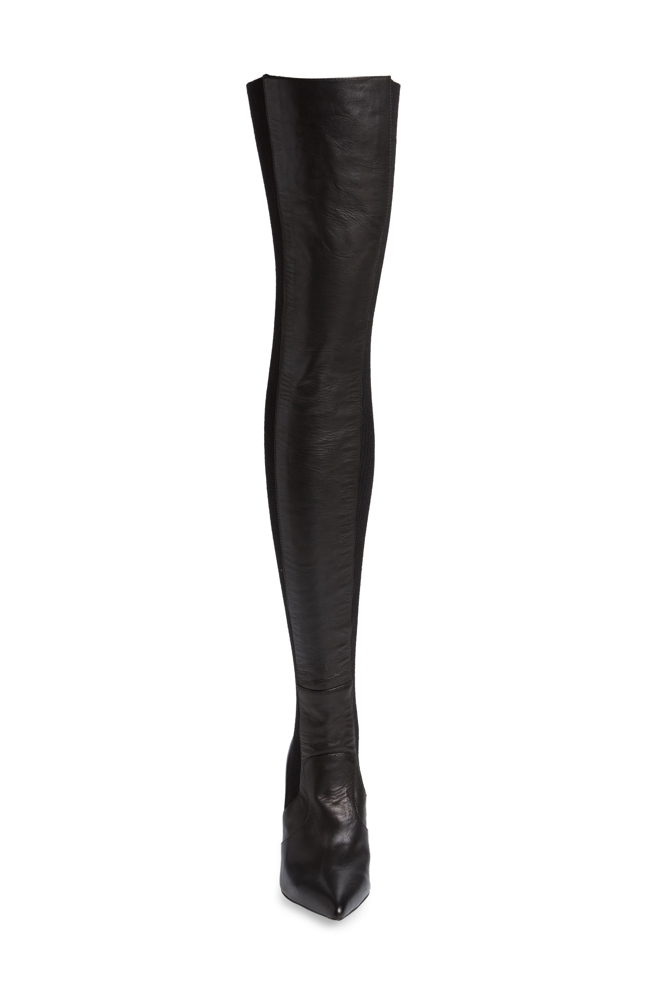 TONY BIANCO,                             Dahlia Over the Knee Boot,                             Alternate thumbnail 4, color,                             001