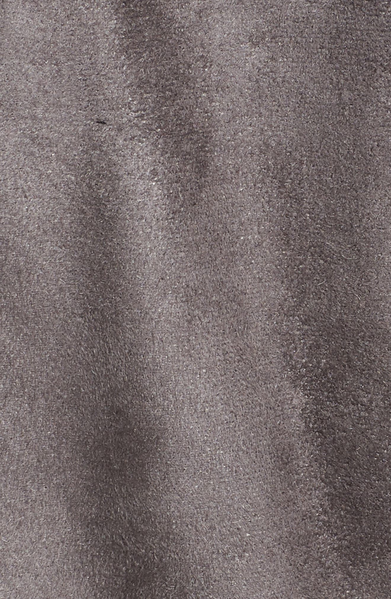 Faux Shearling Coat,                             Alternate thumbnail 12, color,