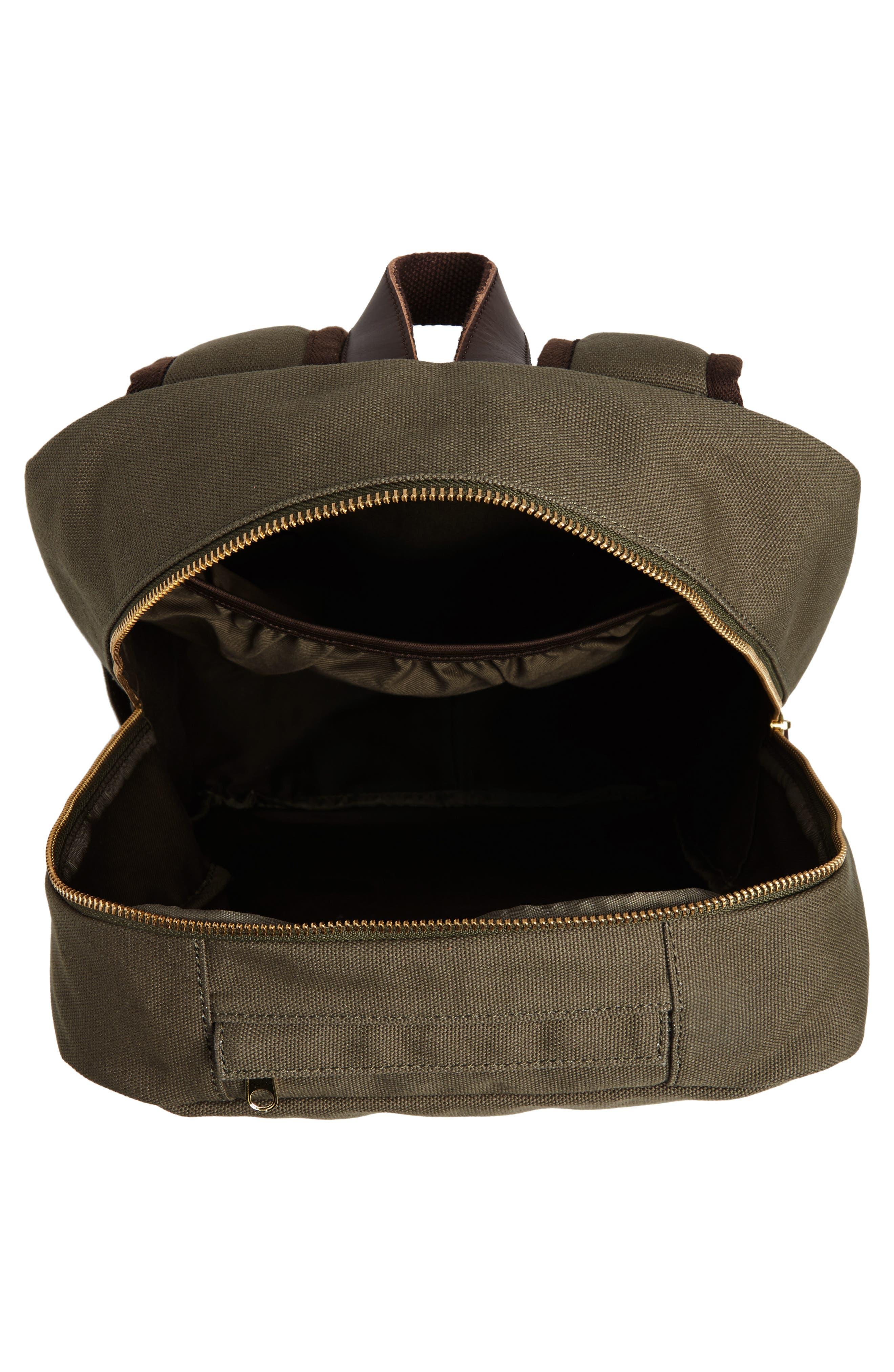 Hudderton Backpack,                             Alternate thumbnail 4, color,                             MOSS