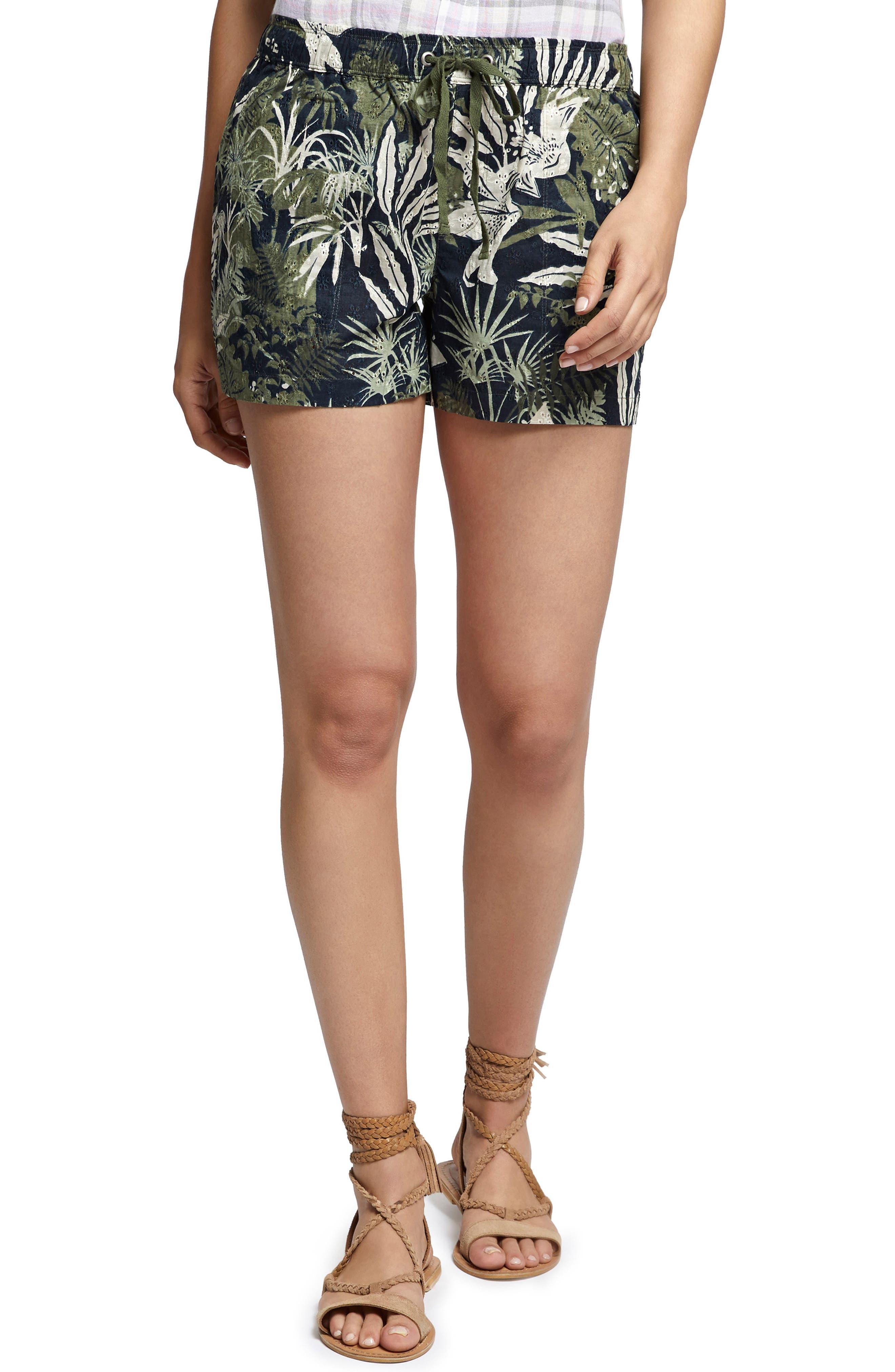 Trooper Drawstring Waist Shorts,                         Main,                         color, 007
