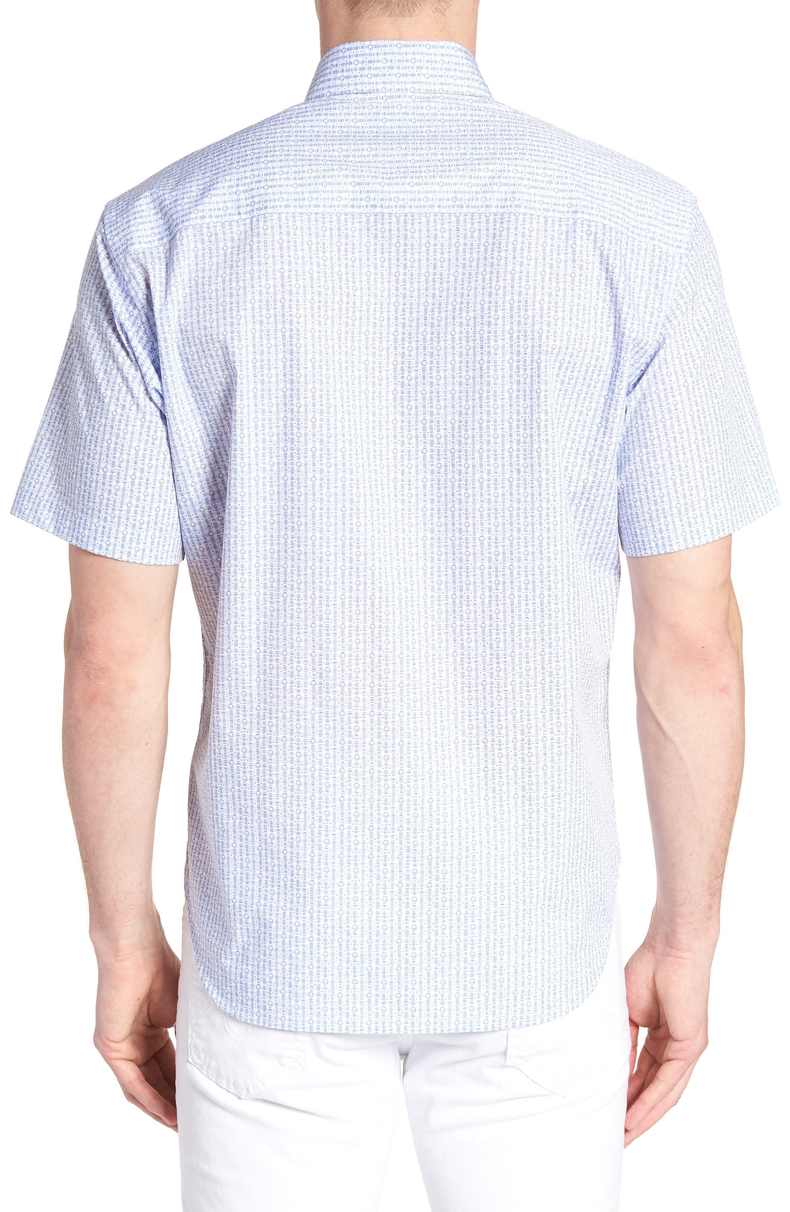 Arnie Regular Fit Sport Shirt,                             Alternate thumbnail 2, color,                             450