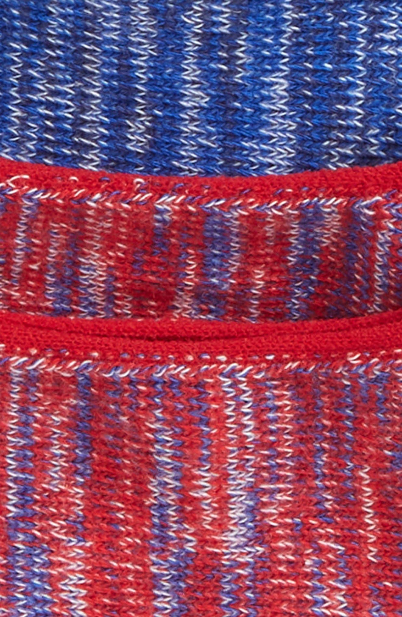 2-Pack Marl Loafer Liner Socks,                             Alternate thumbnail 2, color,                             RED MARL/ NAVY MARL