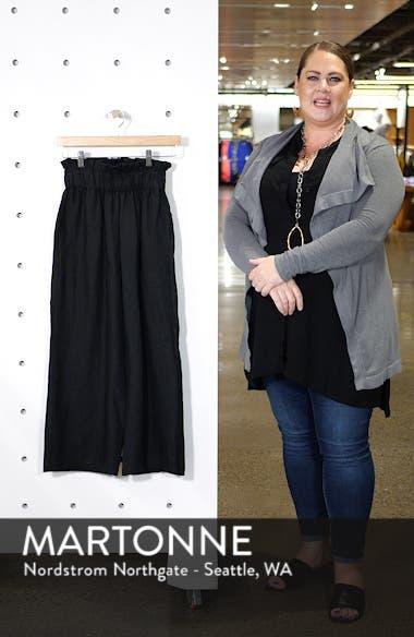 Varadero High Waist Linen Pants, sales video thumbnail