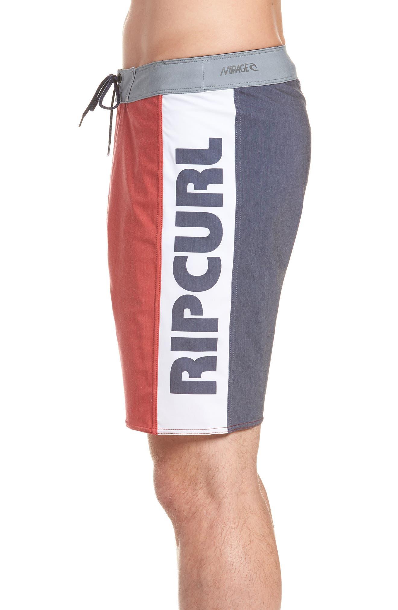 Mirage Owen Stretch Board Shorts,                             Alternate thumbnail 3, color,                             600