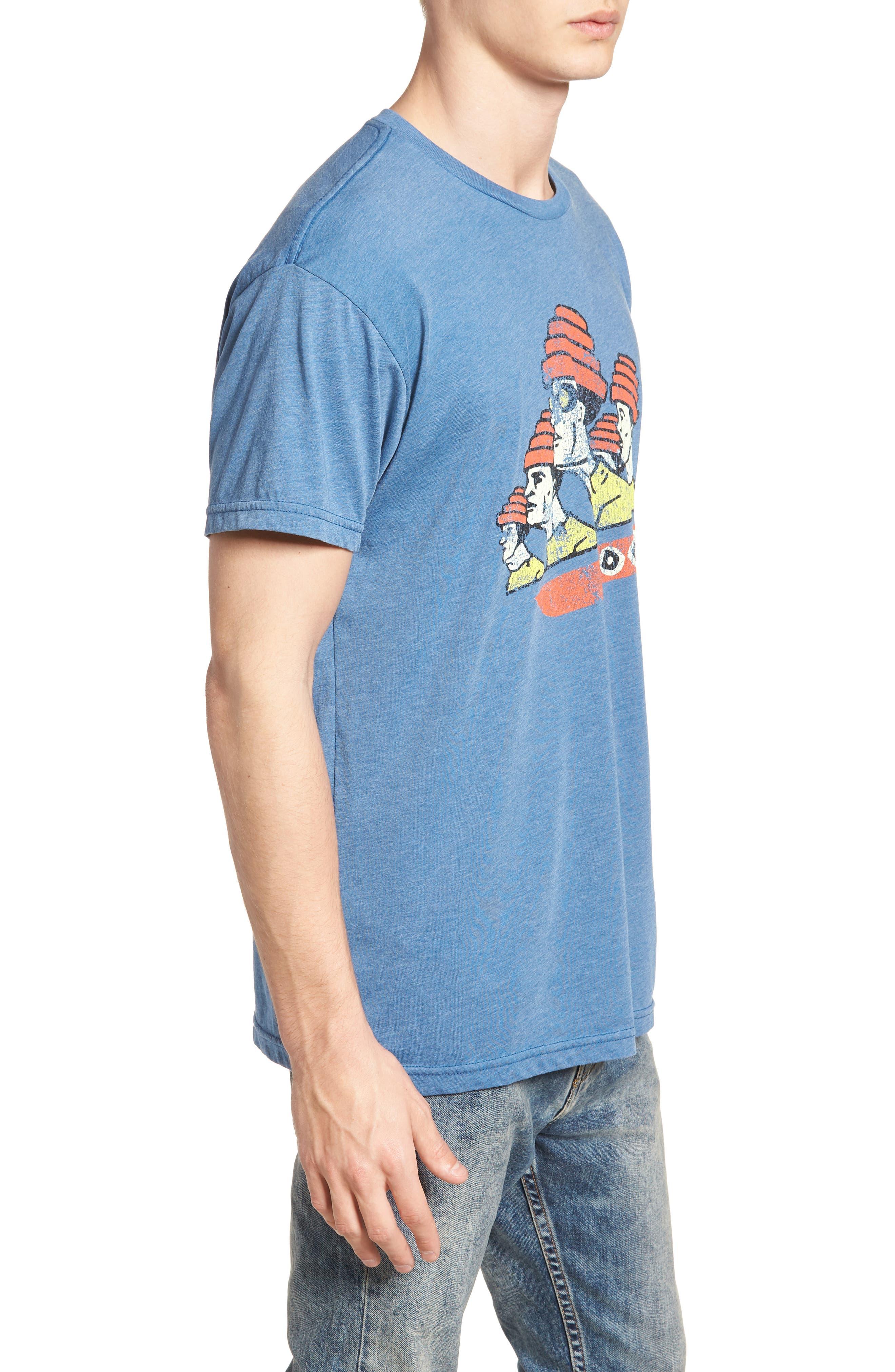 Devo Graphic T-Shirt,                             Alternate thumbnail 3, color,                             400