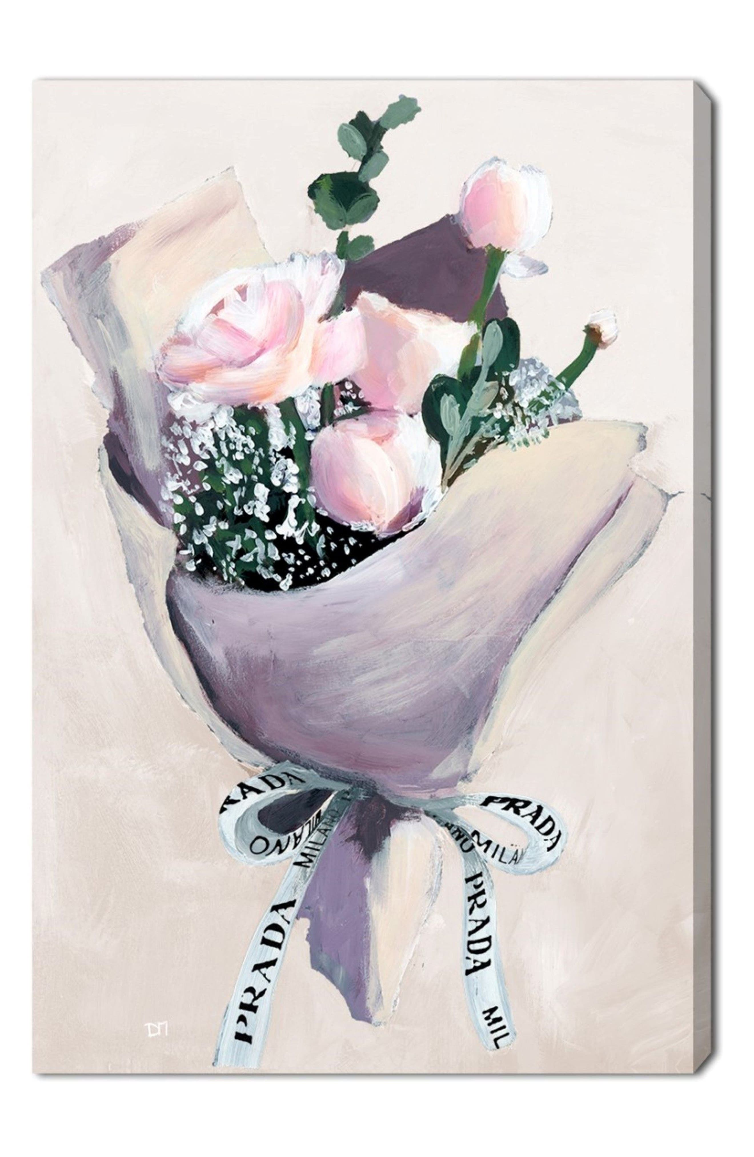 Delivery for Her Canvas Wall Art,                             Main thumbnail 1, color,
