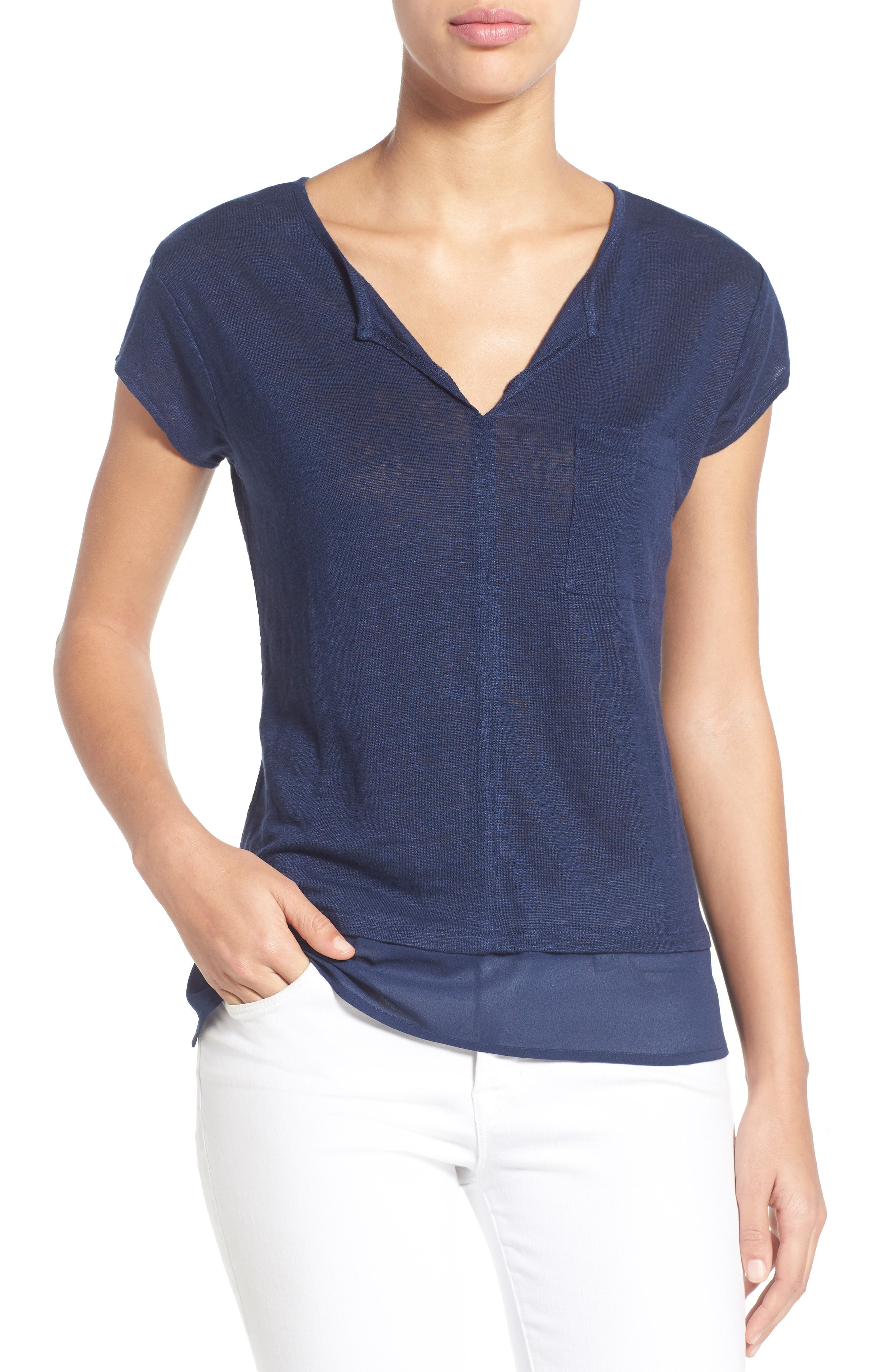 City Mix Layered Look Tee,                             Alternate thumbnail 59, color,