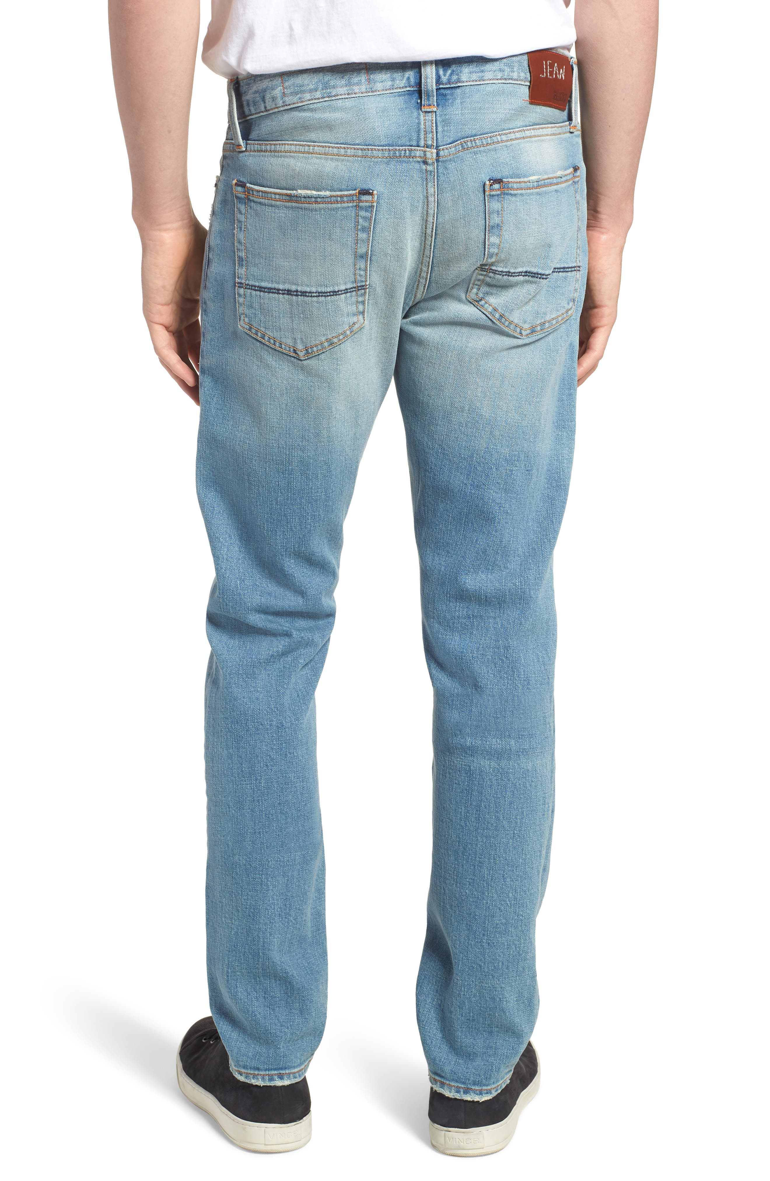 Jim Slim Fit Jeans,                             Alternate thumbnail 2, color,                             HOLLIS