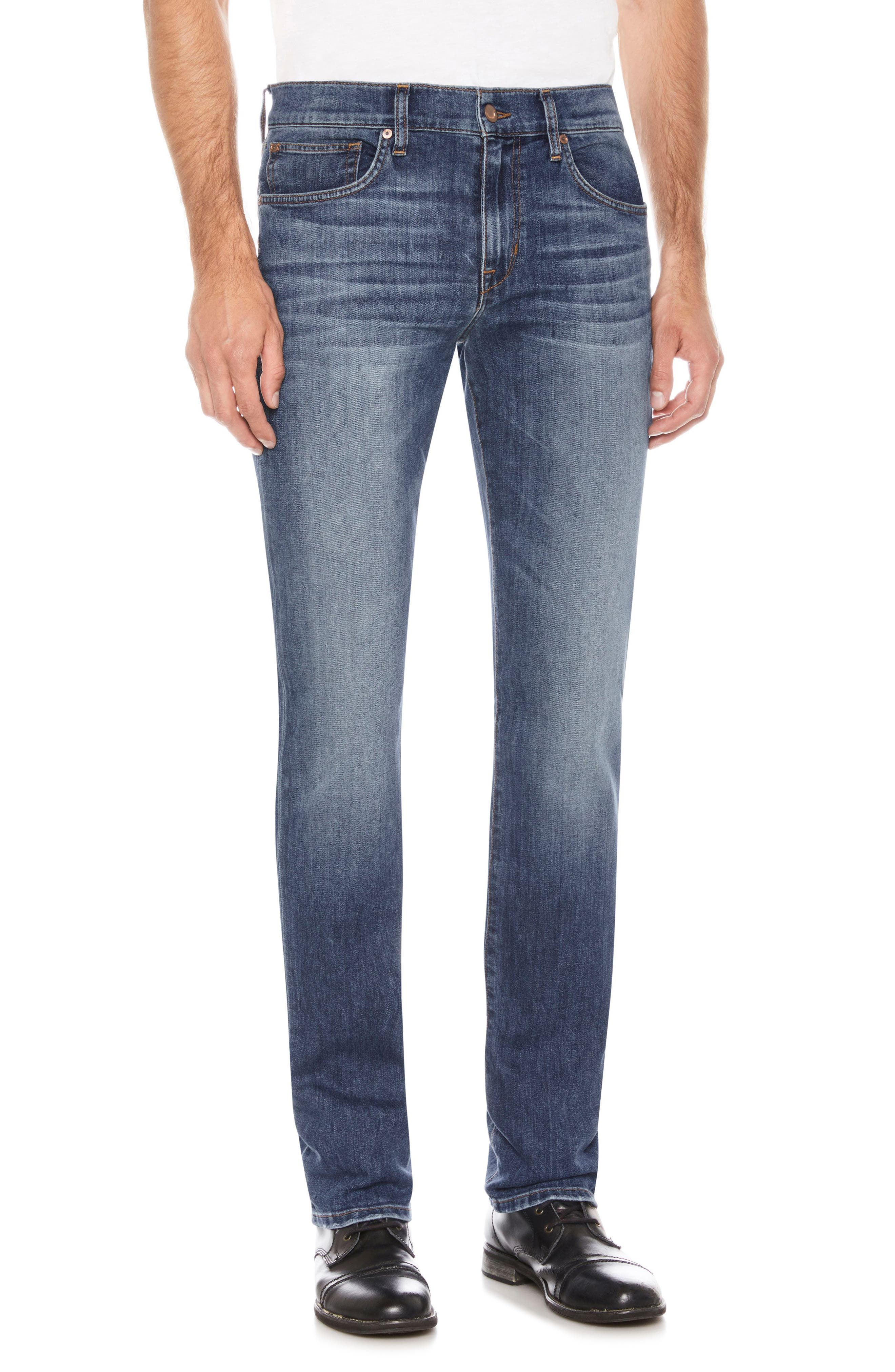Brixton Slim Straight Leg Jeans,                         Main,                         color, 410