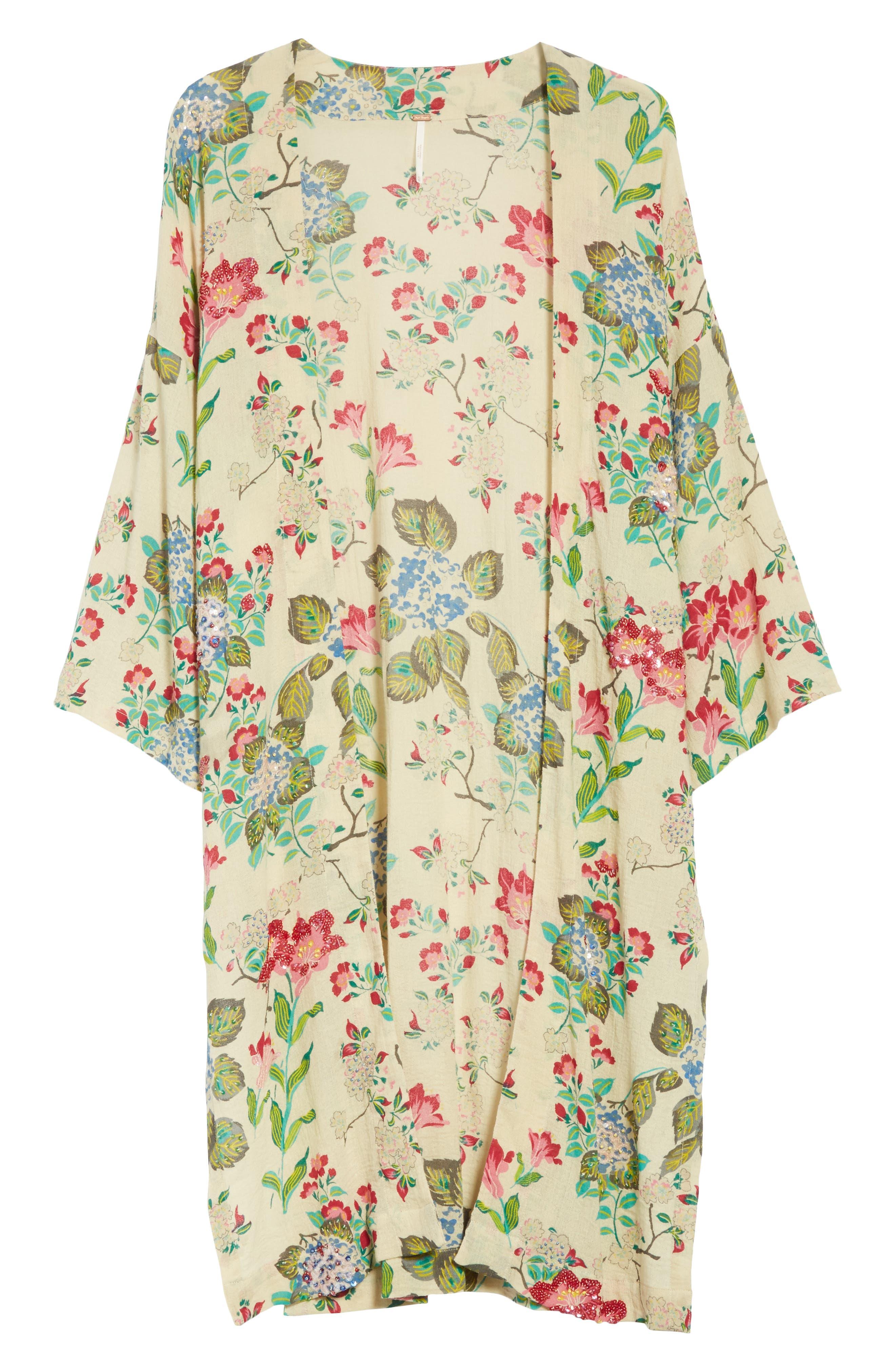 Latimer Kimono,                             Alternate thumbnail 5, color,