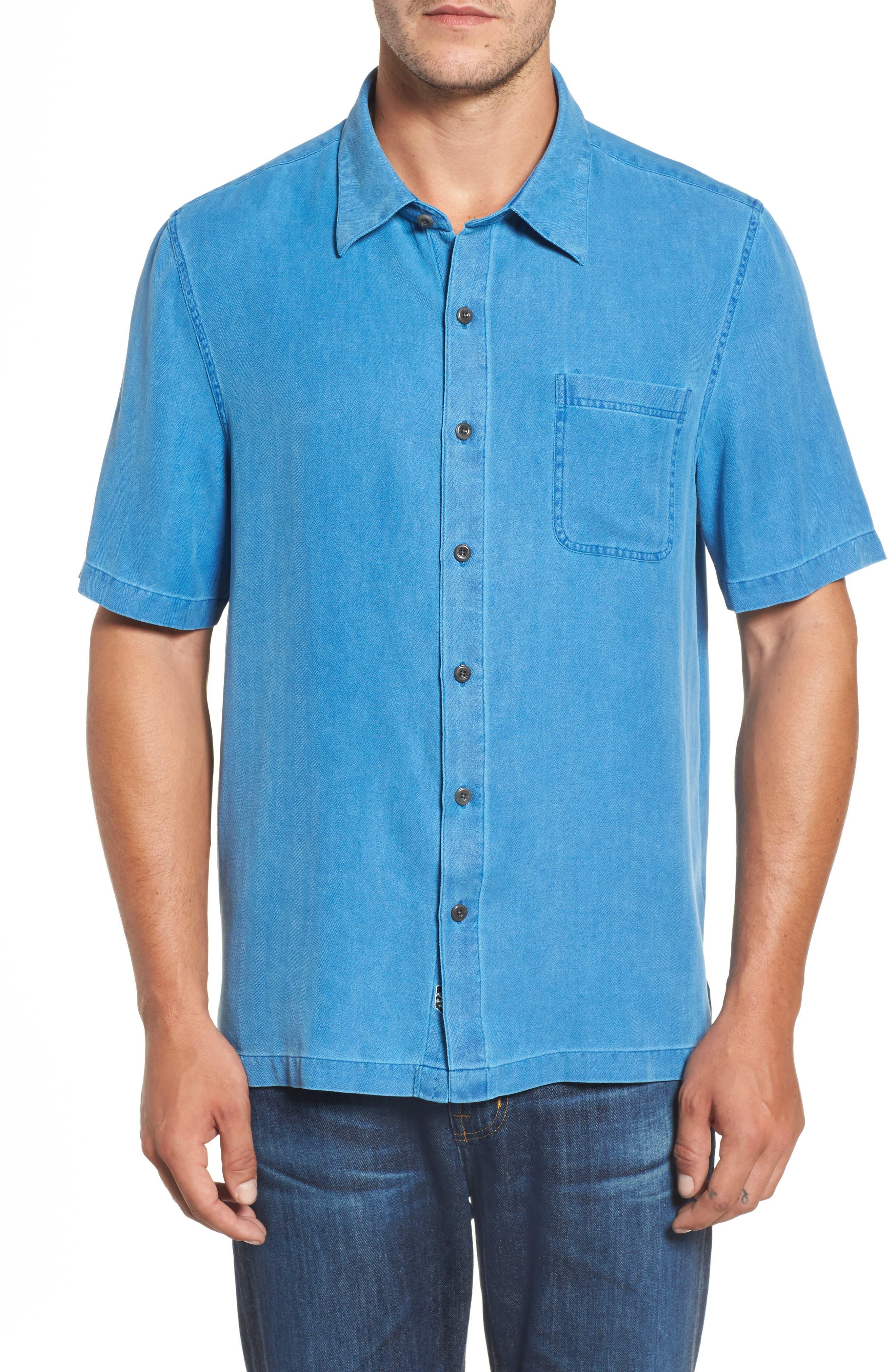 With a Twist Silk Blend Camp Shirt,                             Main thumbnail 3, color,