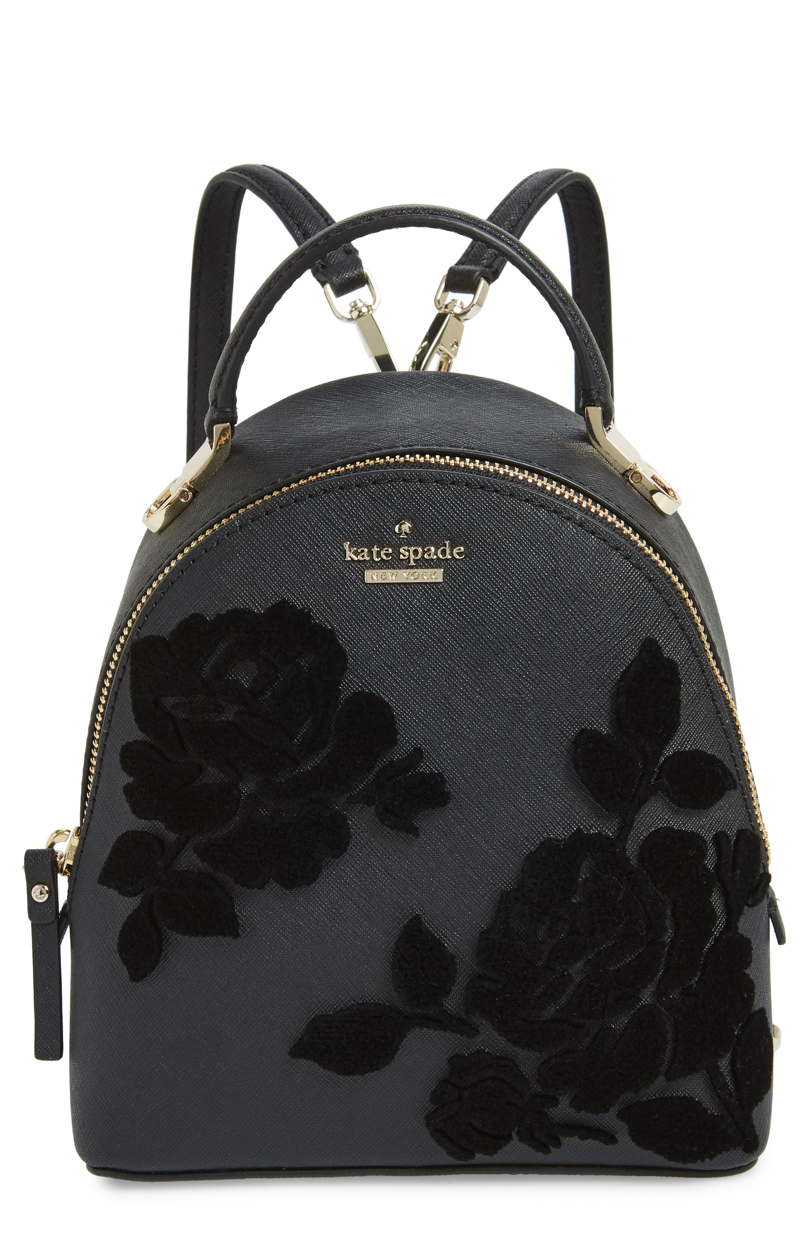 cameron street flock roses convertible backpack,                         Main,                         color, 001
