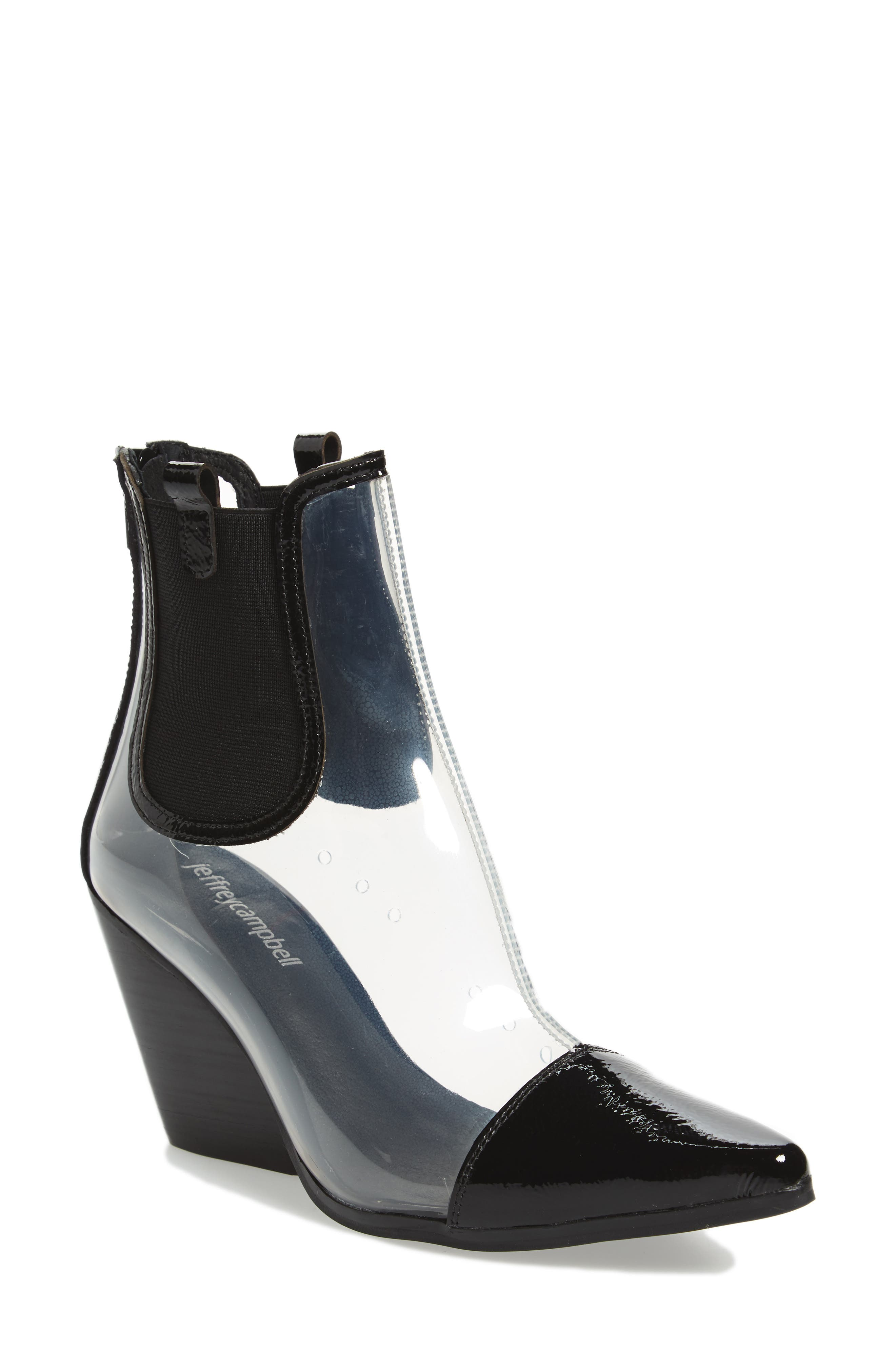 Aliases Genuine Calf Hair Boot,                             Main thumbnail 1, color,                             001