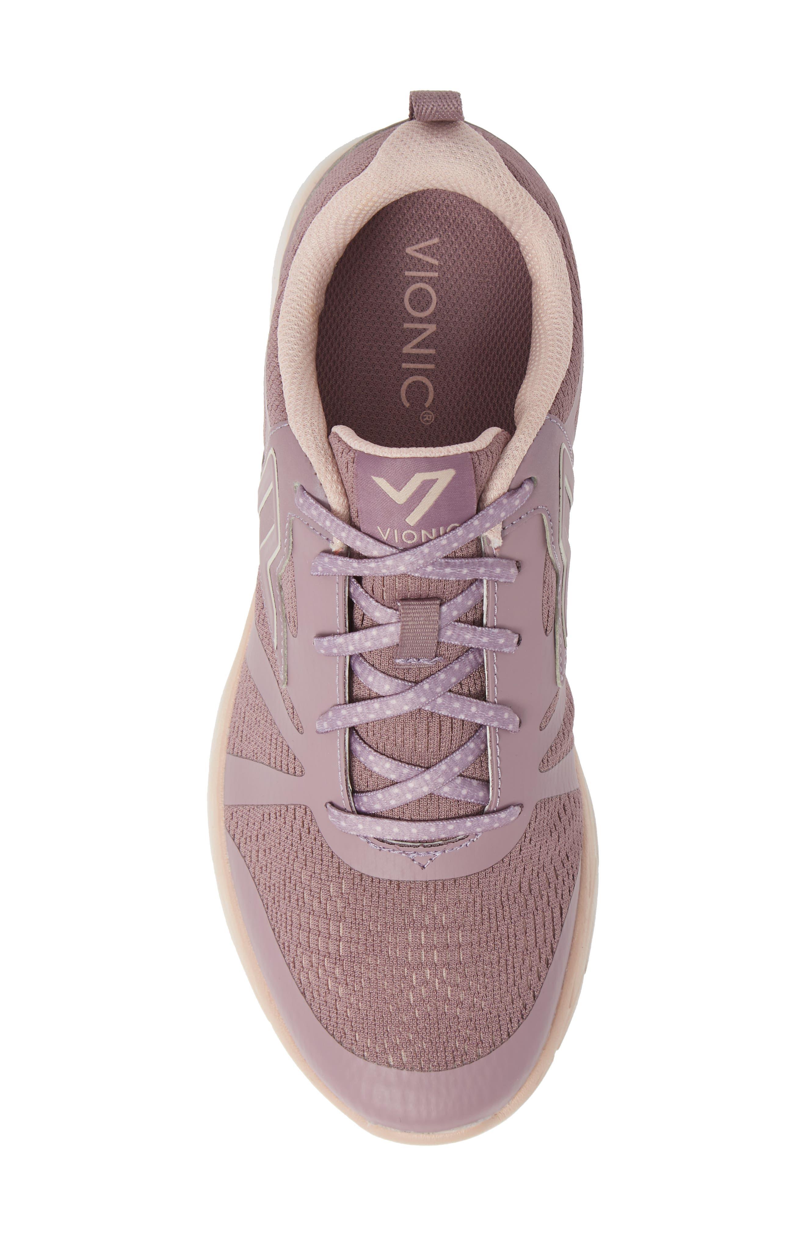 VIONIC,                             Brisk Miles Sneaker,                             Alternate thumbnail 5, color,                             MAUVE