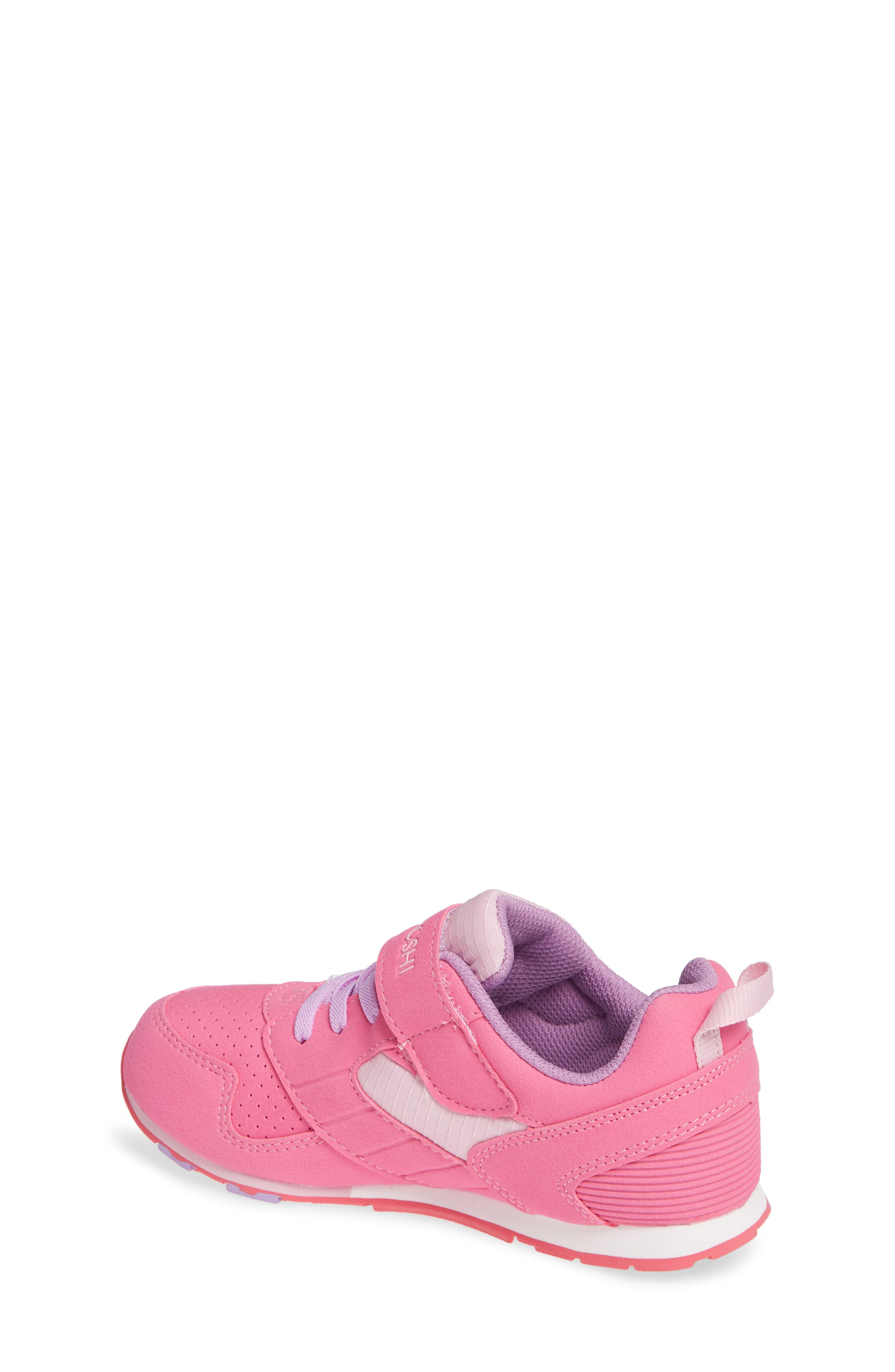 Racer Washable Sneaker,                             Alternate thumbnail 2, color,                             FUCHSIA/ PINK