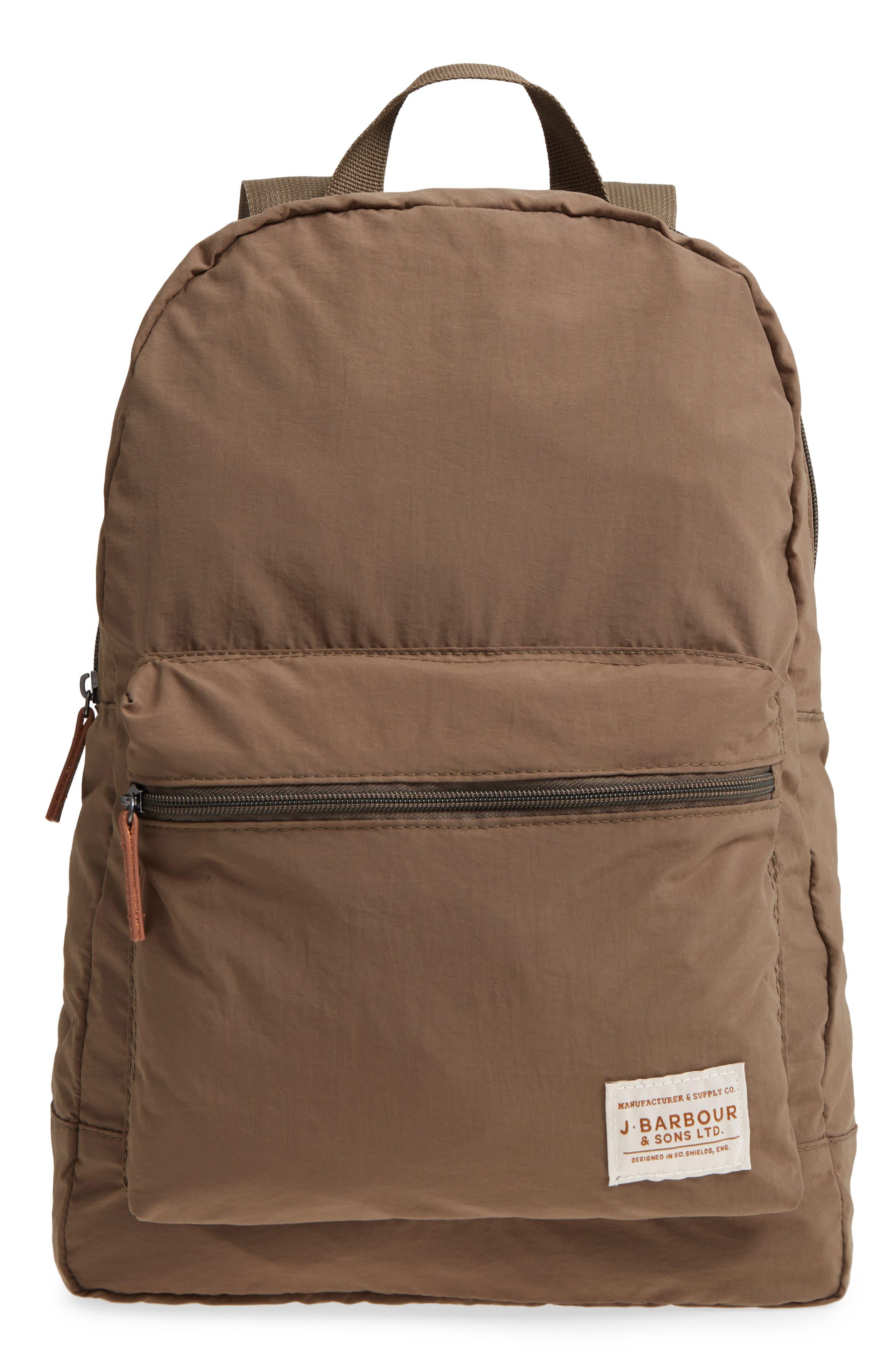 Beauly Packable Backpack,                             Main thumbnail 1, color,                             KHAKI