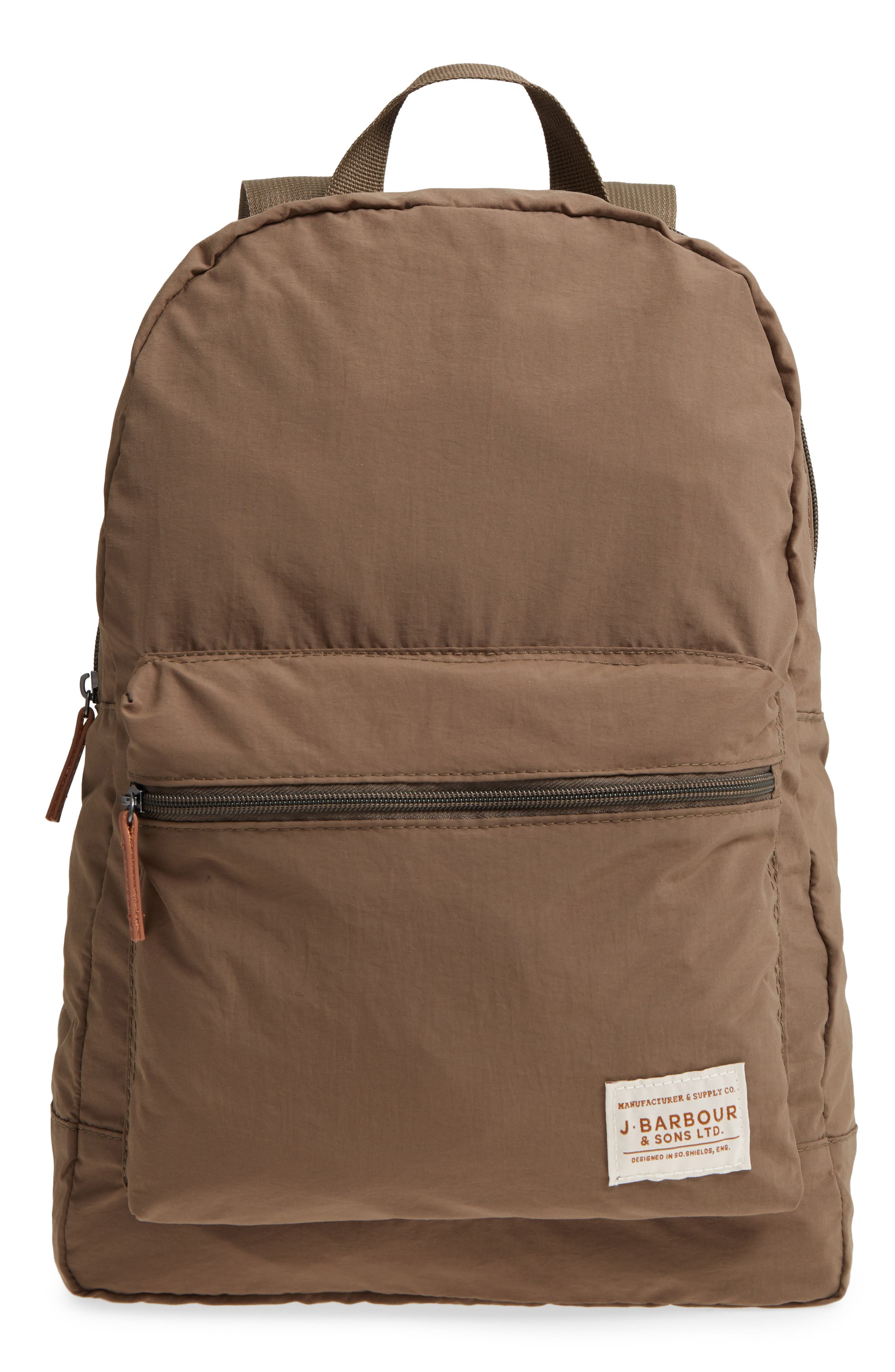 Beauly Packable Backpack,                         Main,                         color, KHAKI
