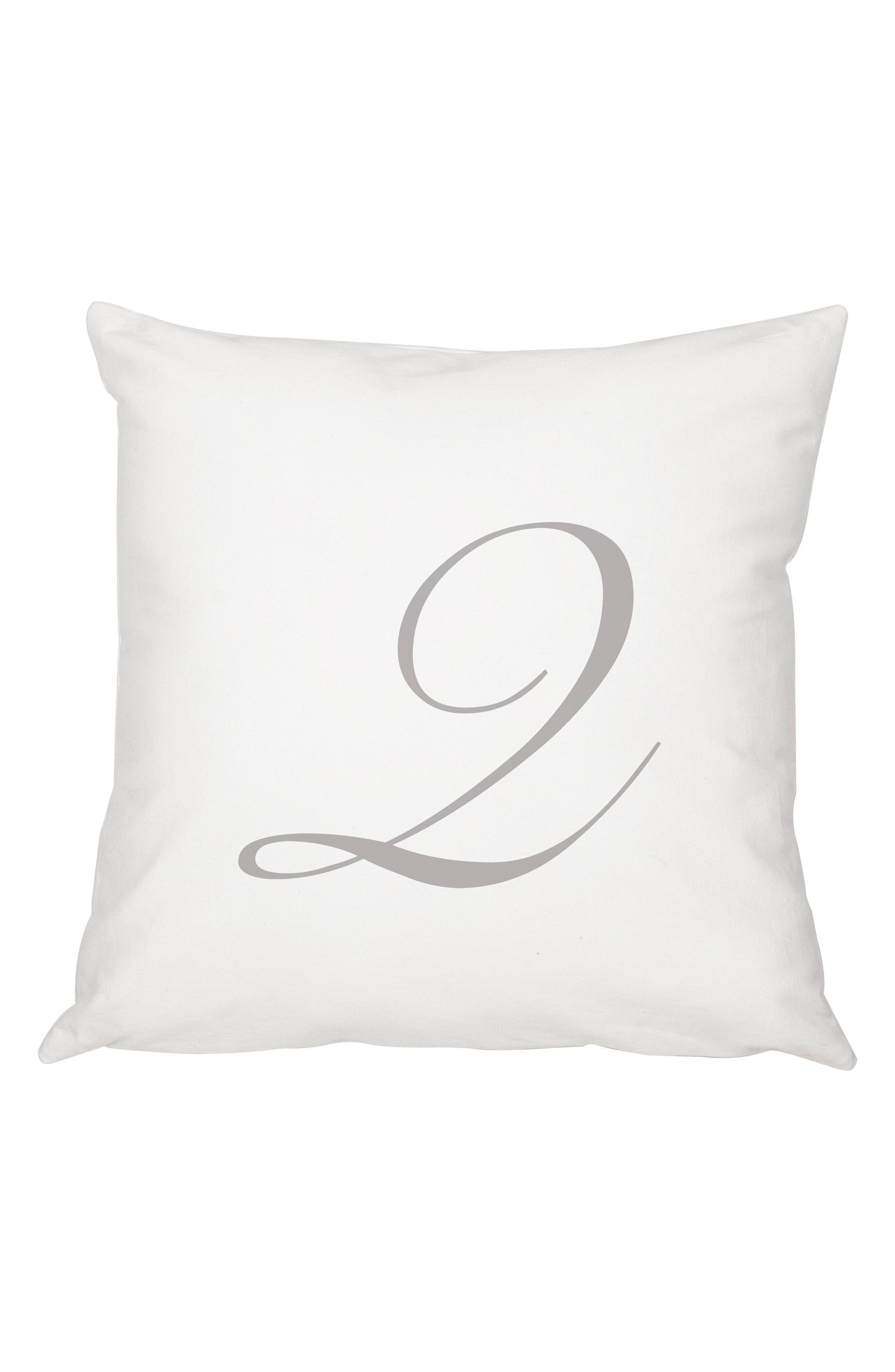 Script Monogram Accent Pillow,                             Main thumbnail 17, color,