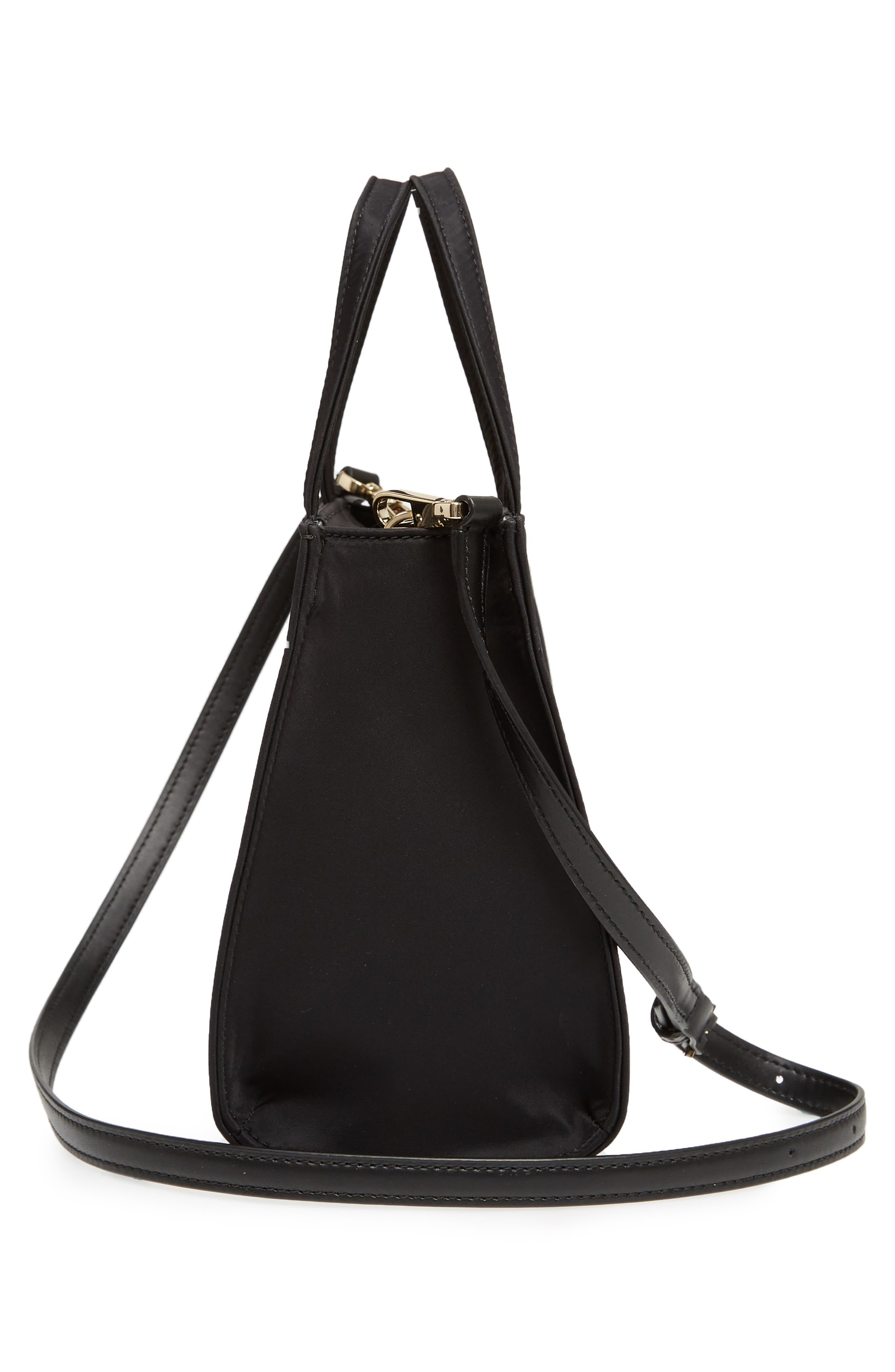 watson lane – sam nylon satchel,                             Alternate thumbnail 5, color,                             BLACK