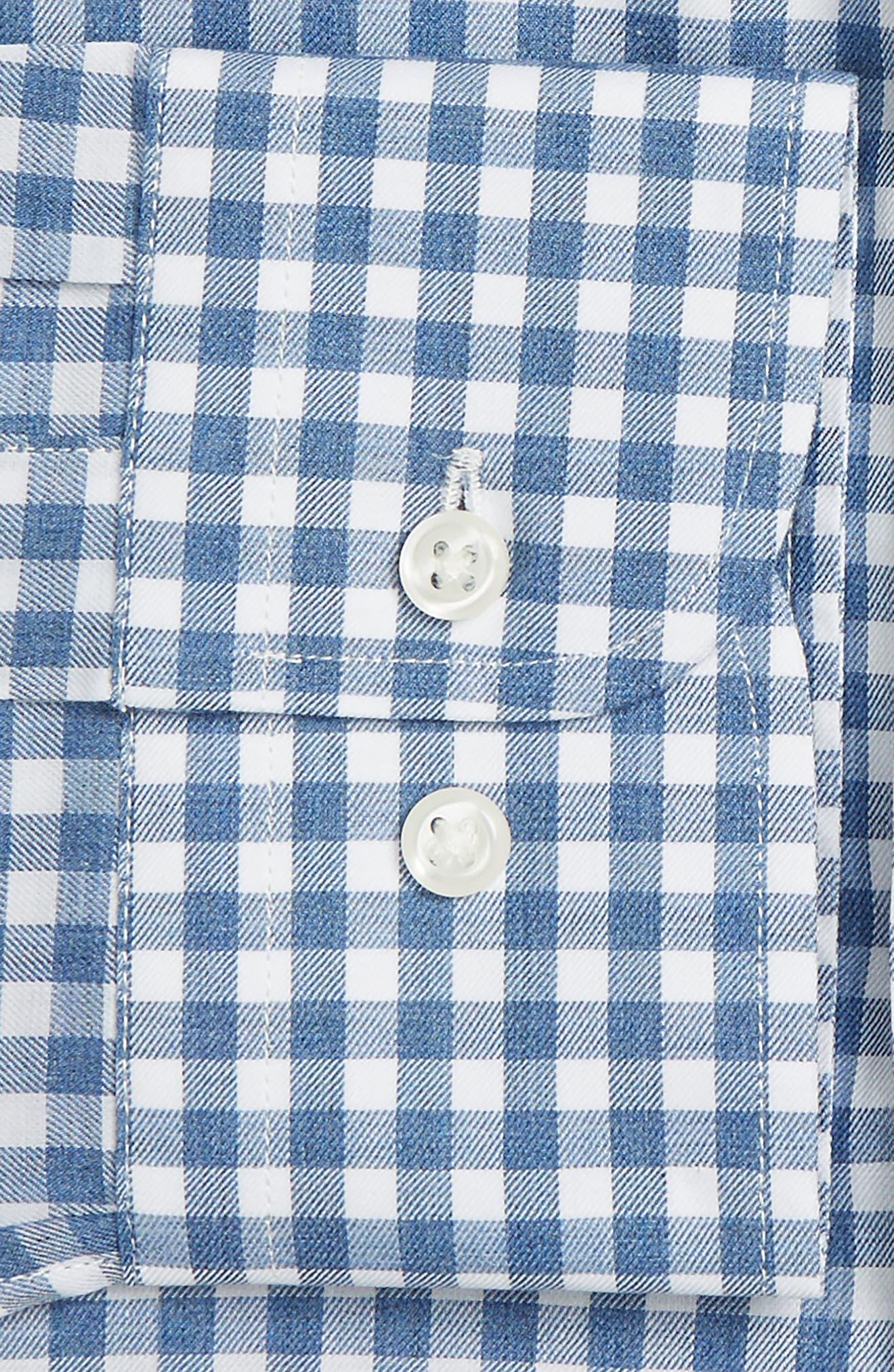 Trim Fit Check Dress Shirt,                             Alternate thumbnail 2, color,                             420