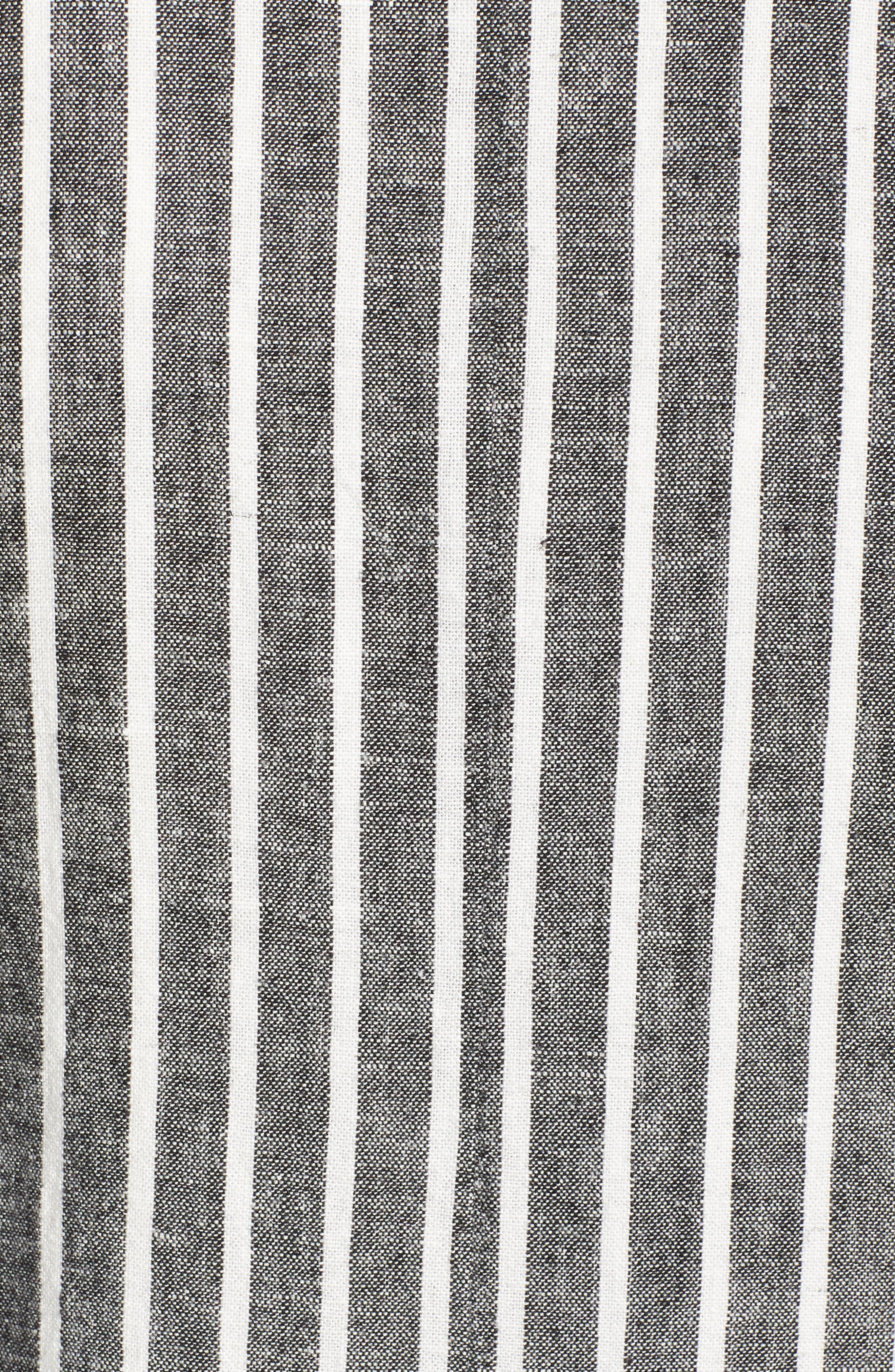 Cinch Sleeve Blazer,                             Alternate thumbnail 5, color,                             001