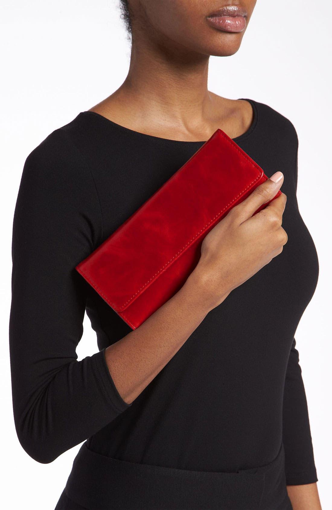 'Sadie' Leather Wallet,                             Alternate thumbnail 96, color,