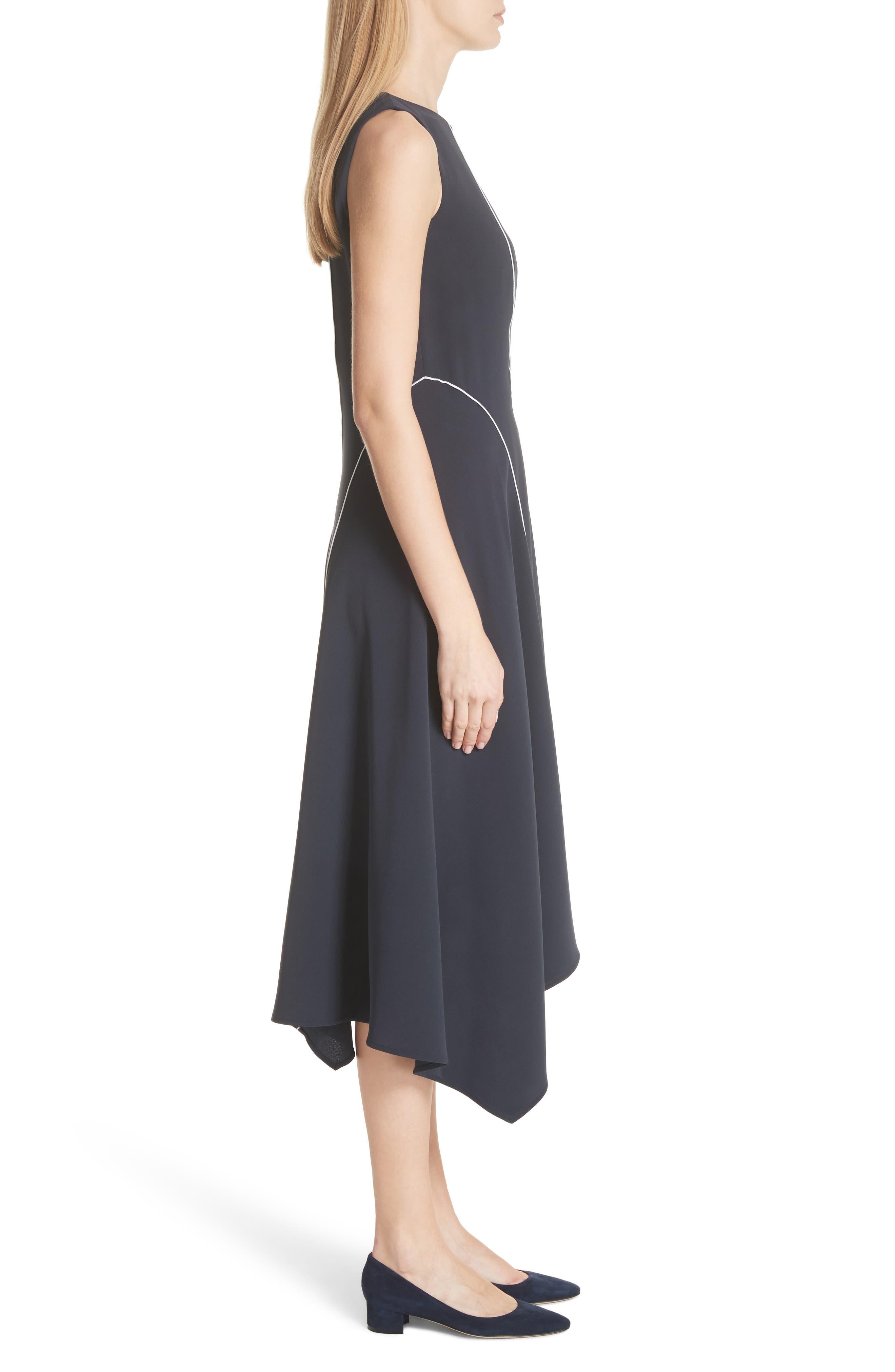 Emberlin Finesse Crepe Dress,                             Alternate thumbnail 3, color,                             479