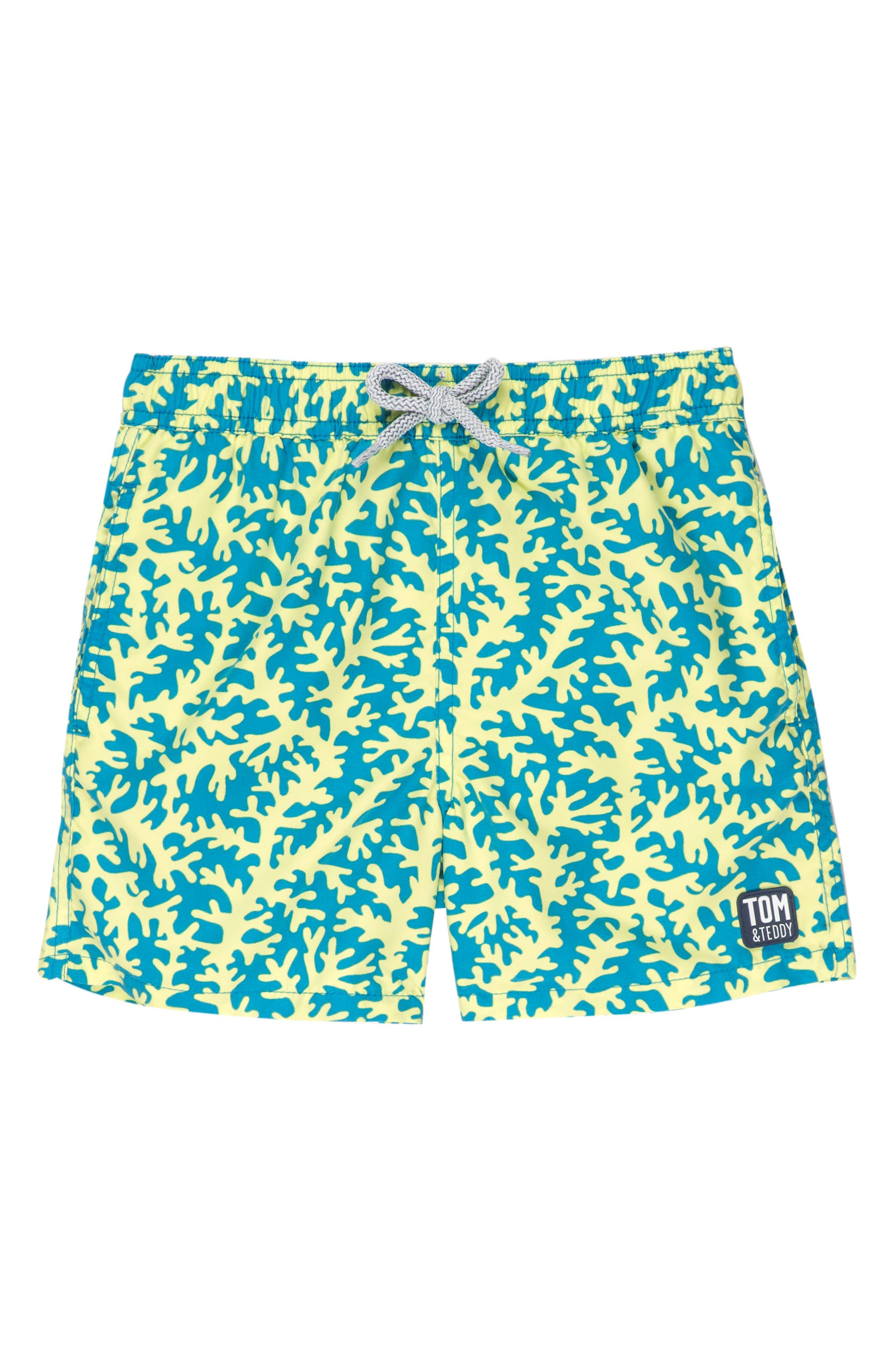 Coral Swim Trunks,                         Main,                         color,