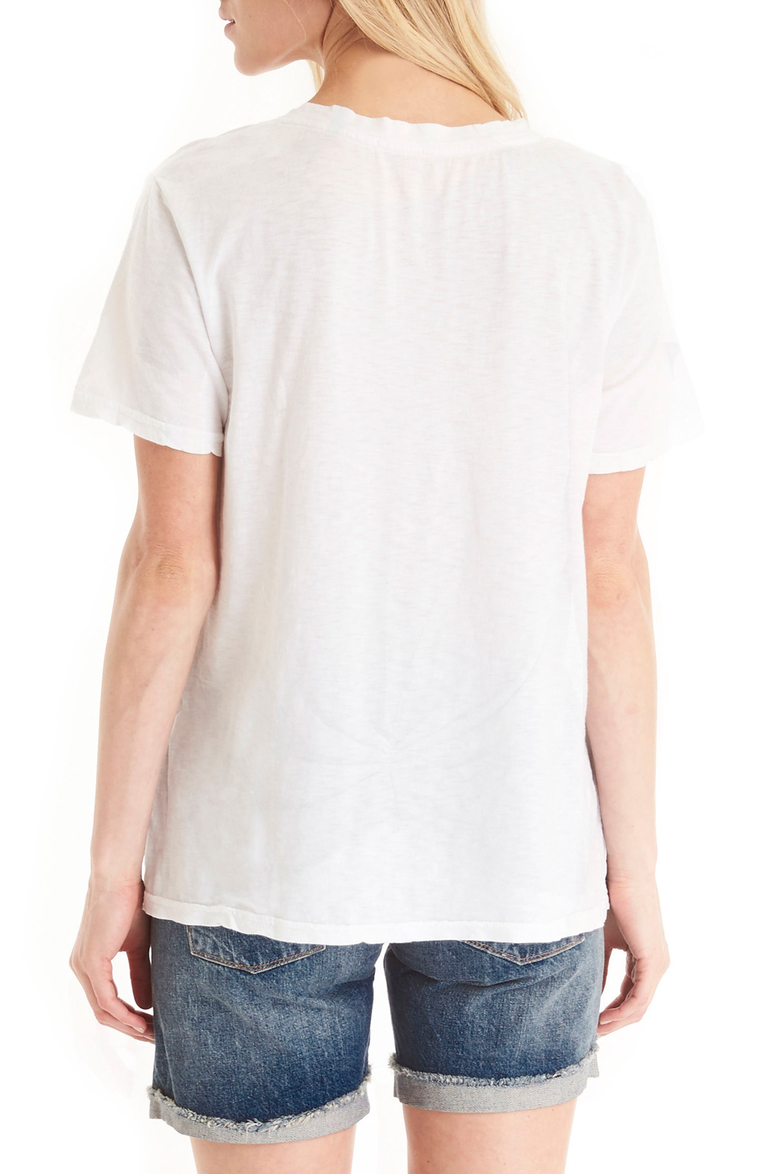 V-Neck Supima<sup>®</sup> Cotton Tee,                             Alternate thumbnail 3, color,