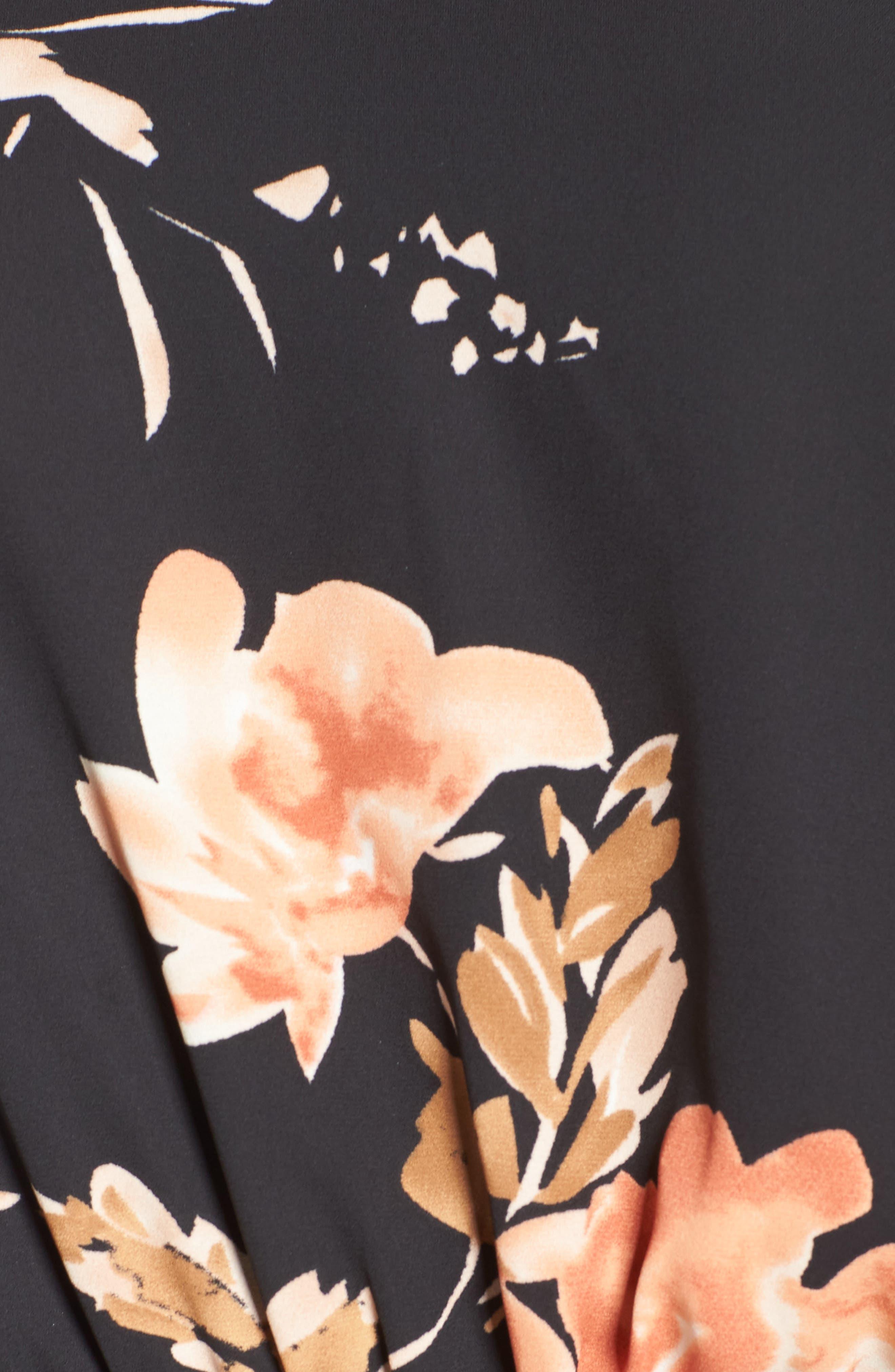 Flower Power Romper,                             Alternate thumbnail 5, color,