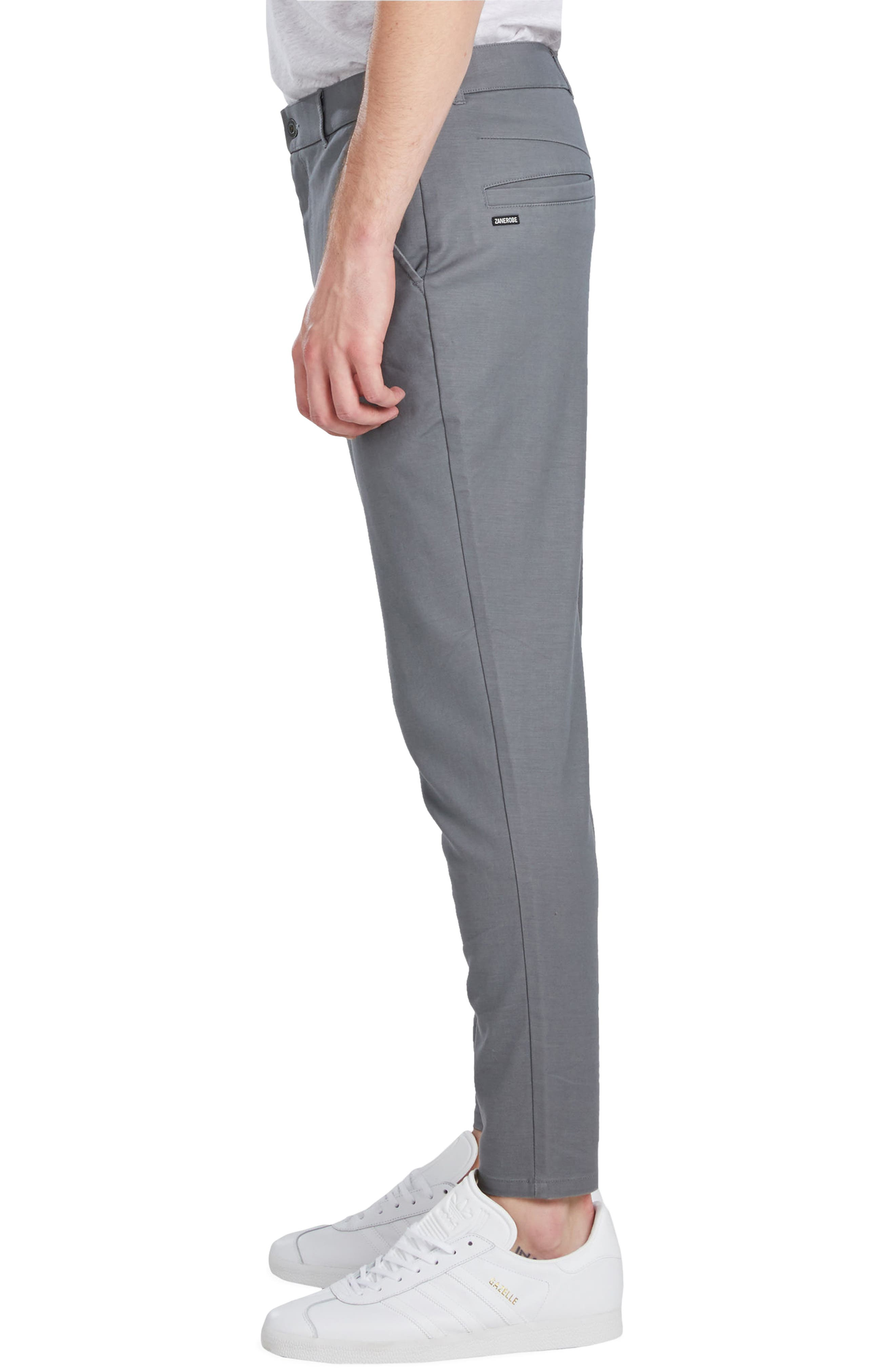'Sharpshot' Slouchy Skinny Fit Chinos,                             Alternate thumbnail 3, color,                             031
