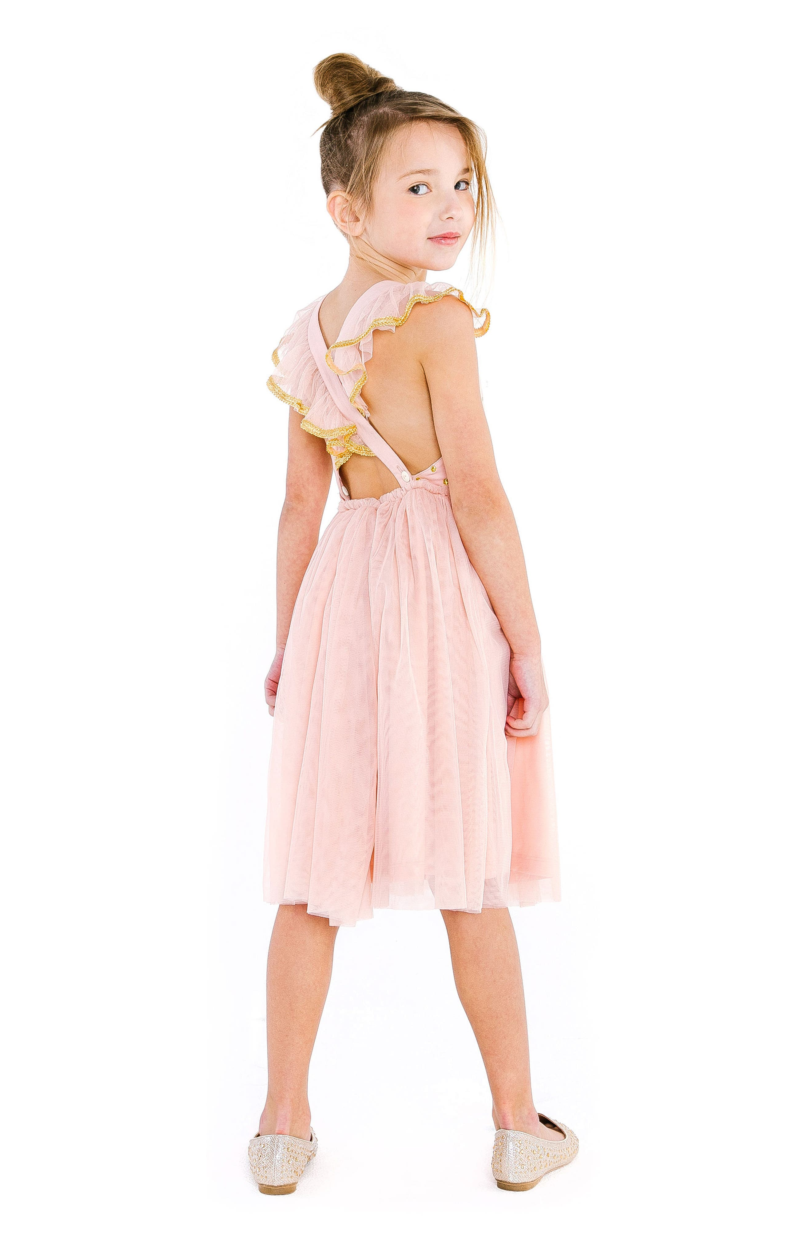 Diya Tulle Sundress,                             Alternate thumbnail 4, color,
