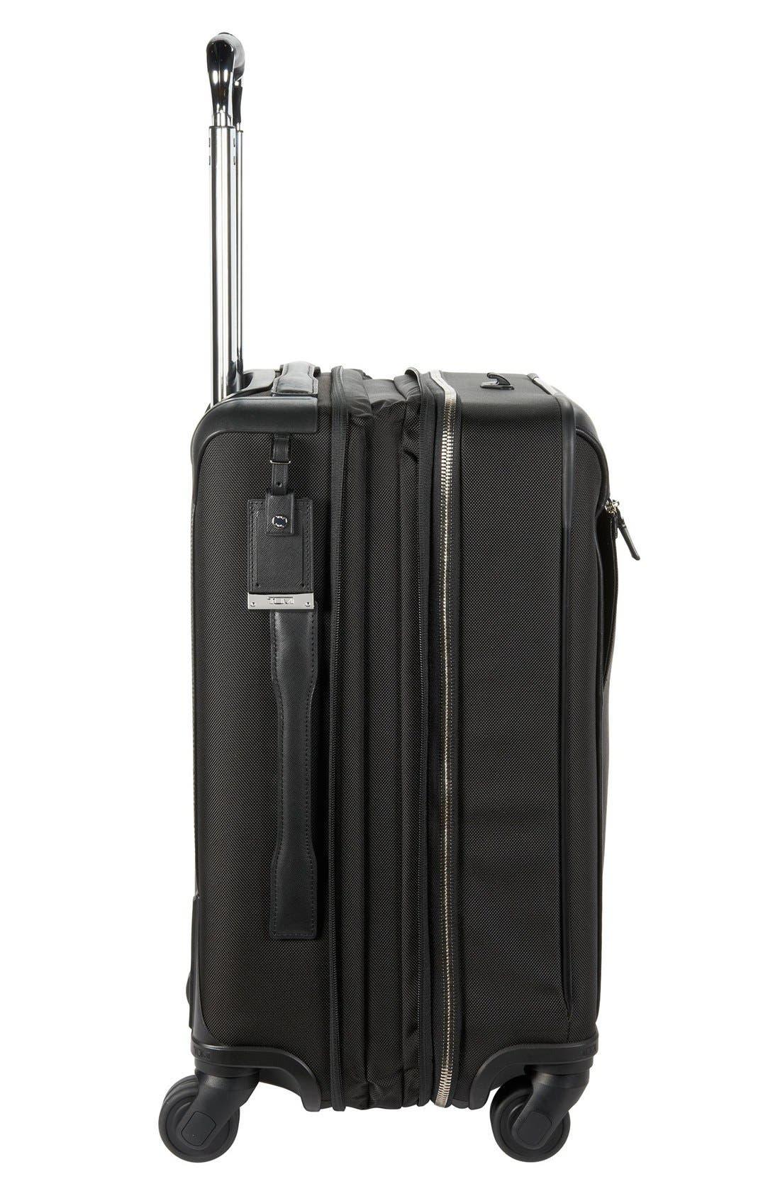 'Astor - Osborne' 4-Wheeled Carry-On Suitcase,                             Alternate thumbnail 4, color,                             001