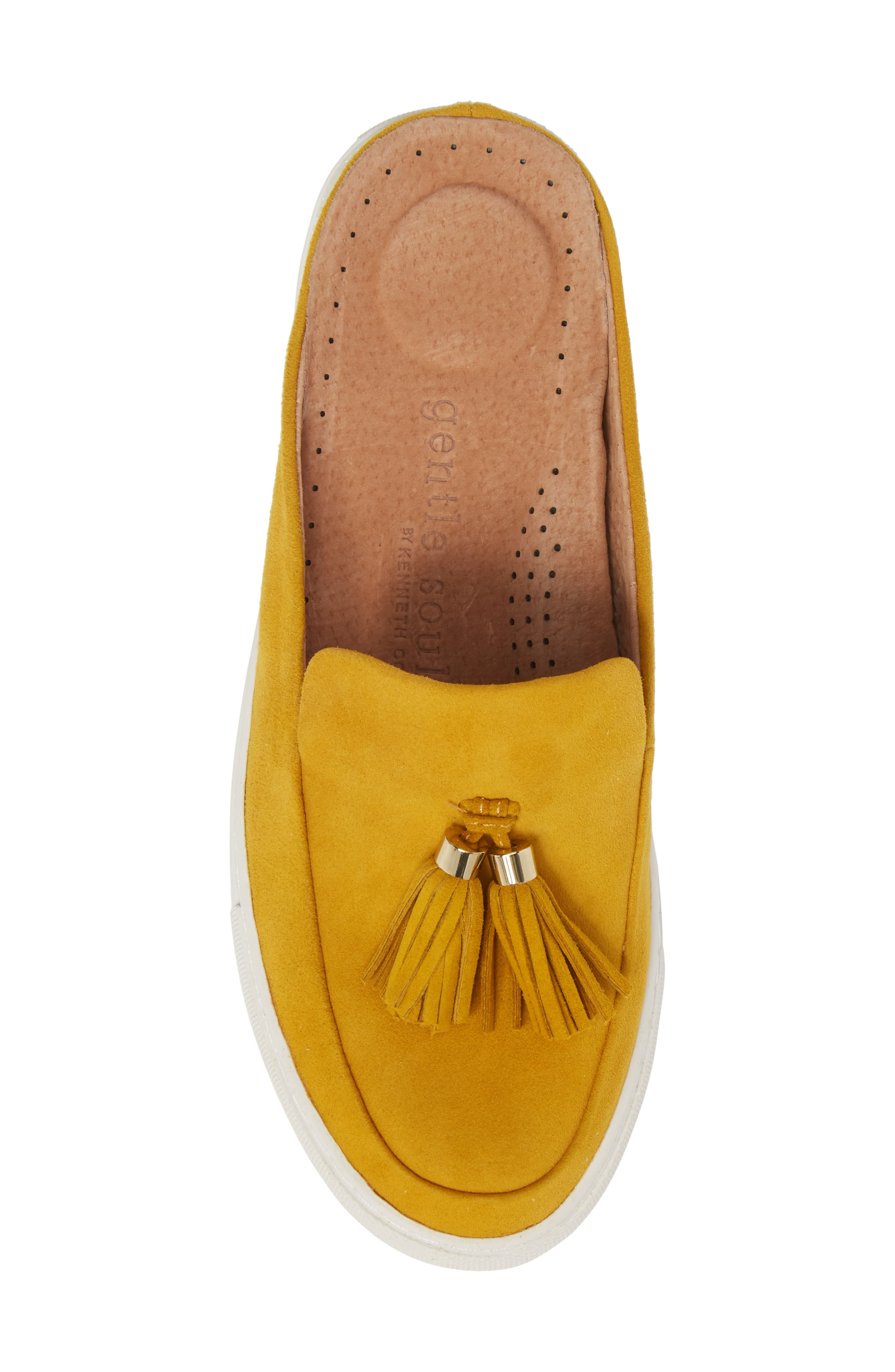 by Kenneth Cole Rory Loafer Mule Sneaker,                             Alternate thumbnail 5, color,                             MARIGOLD SUEDE