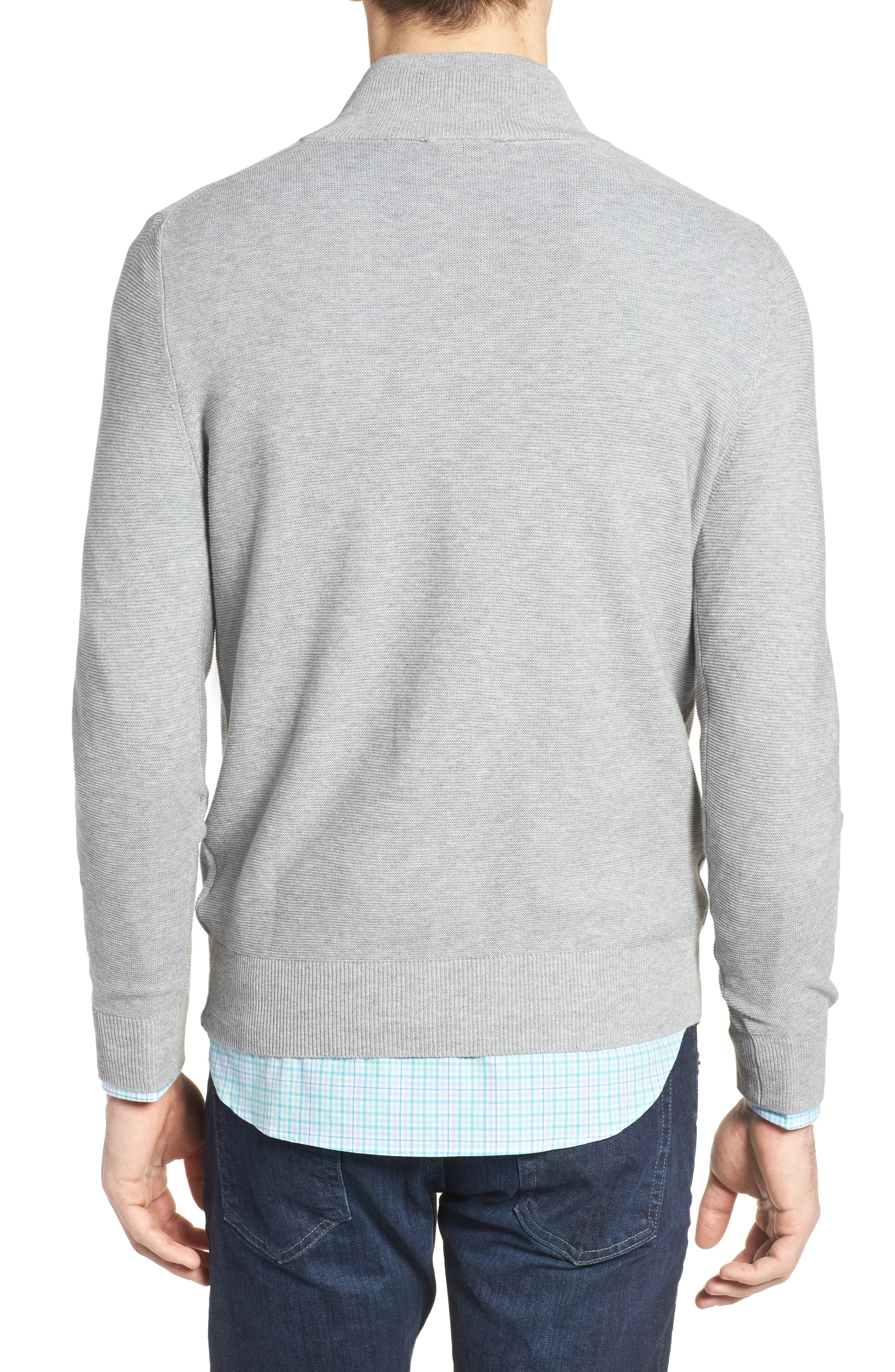 Quarter Zip Sweater,                             Alternate thumbnail 2, color,                             051